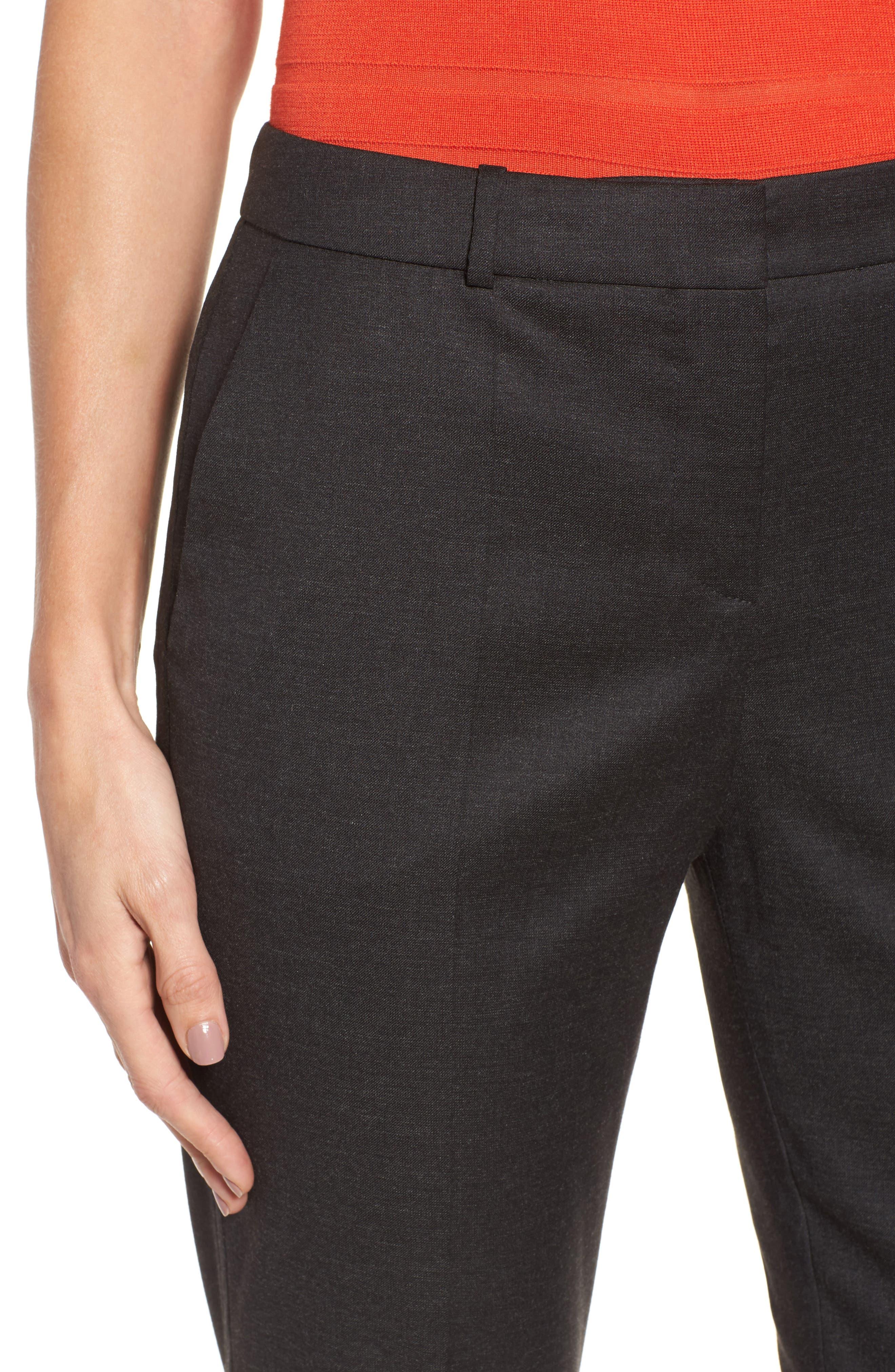Tilunana Stretch Wool Blend Suit Trousers,                             Alternate thumbnail 4, color,                             094