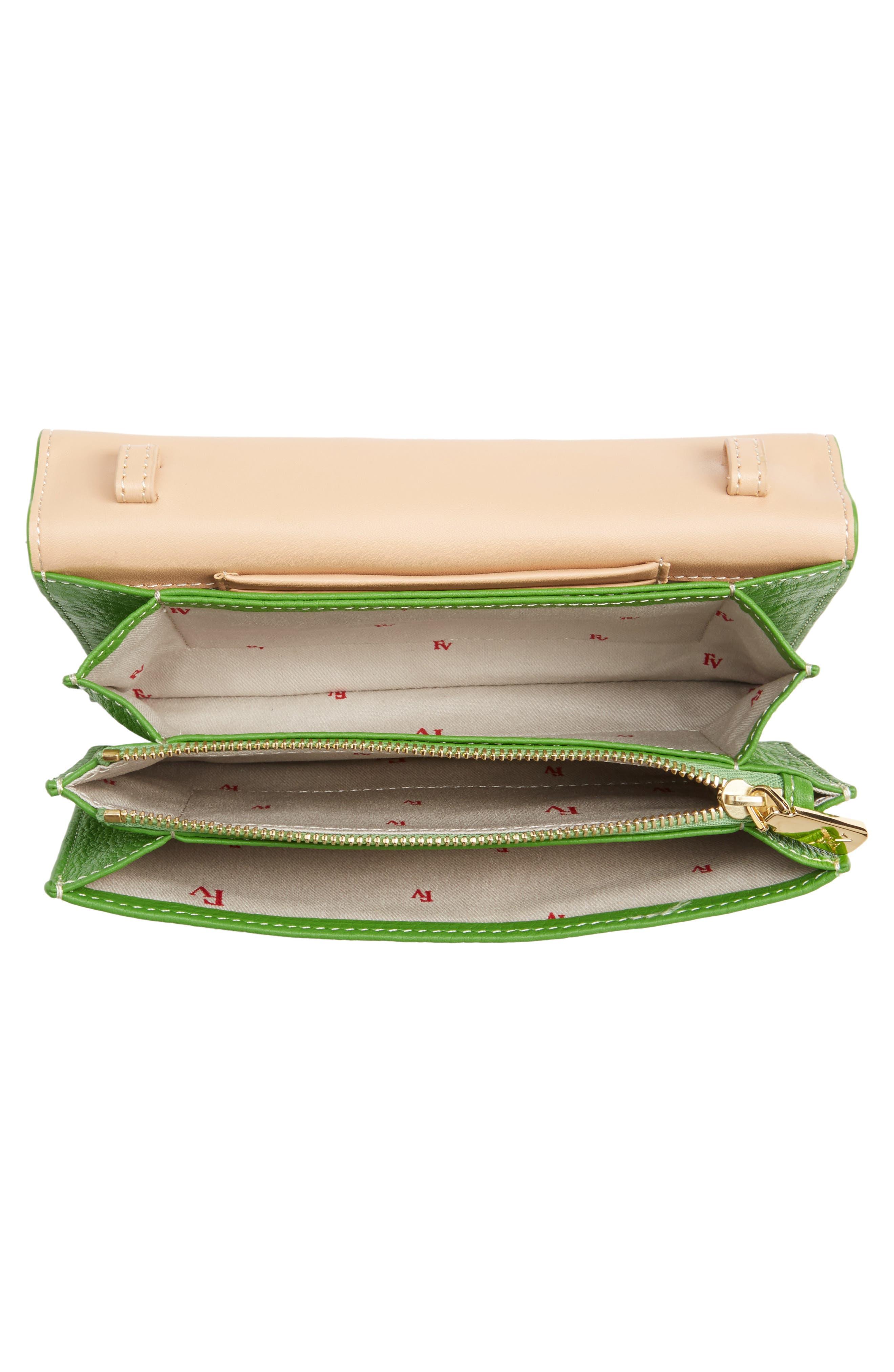 Calfskin Leather Crossbody Wallet,                             Alternate thumbnail 15, color,