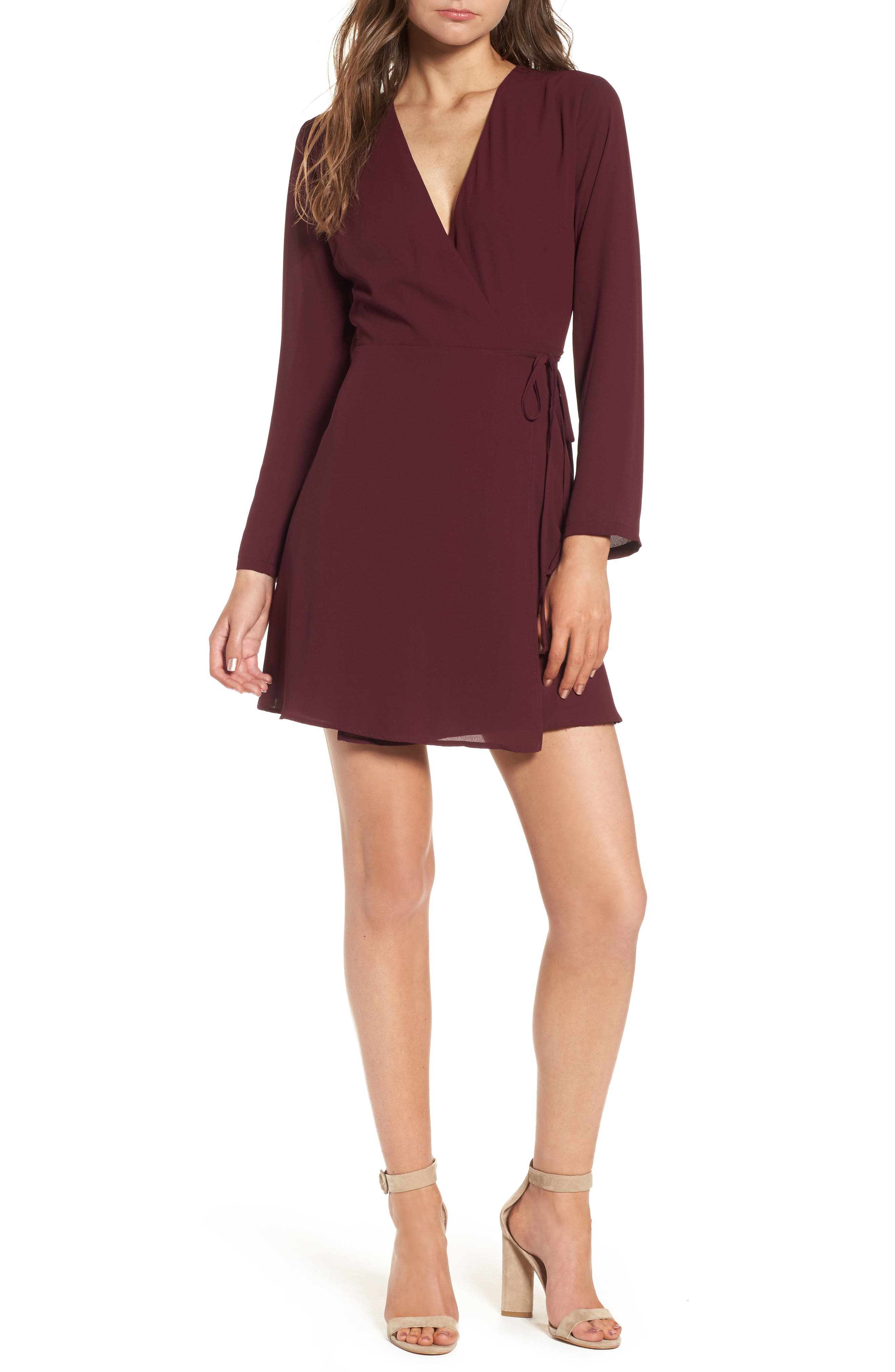 Elly Wrap Dress,                             Main thumbnail 10, color,