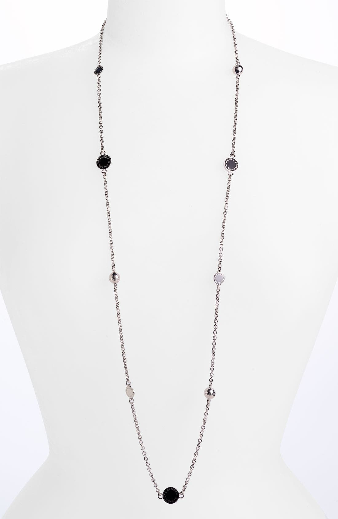 'Classic Marc' Long Necklace,                             Main thumbnail 3, color,