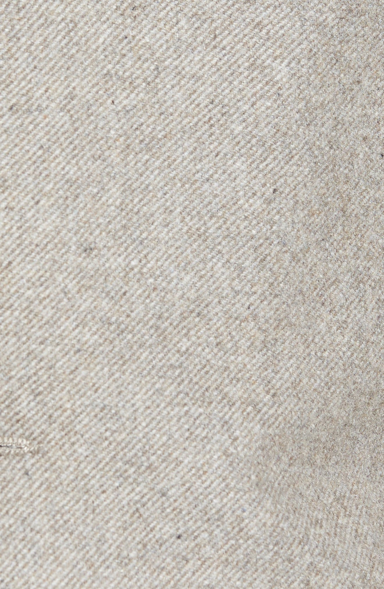 Slim Fit Wool Blend Topcoat,                             Alternate thumbnail 5, color,                             297