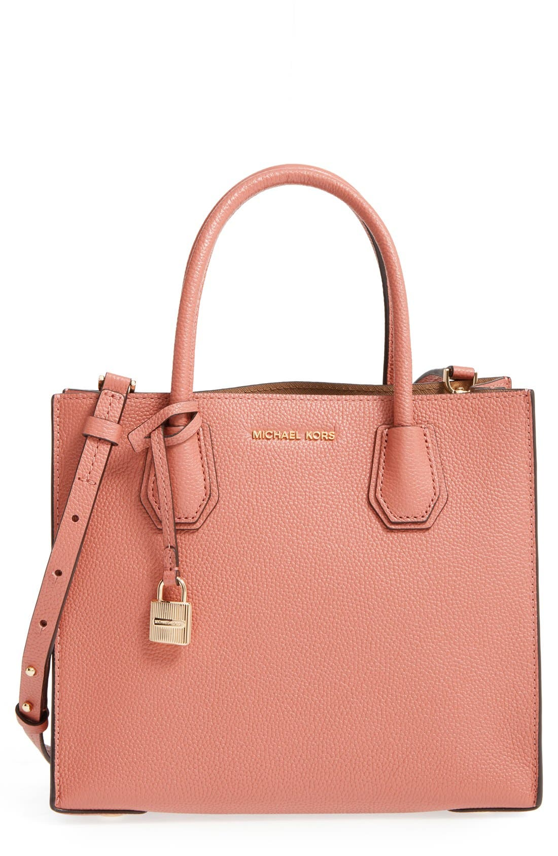 'Medium Mercer' Leather Tote,                             Main thumbnail 7, color,