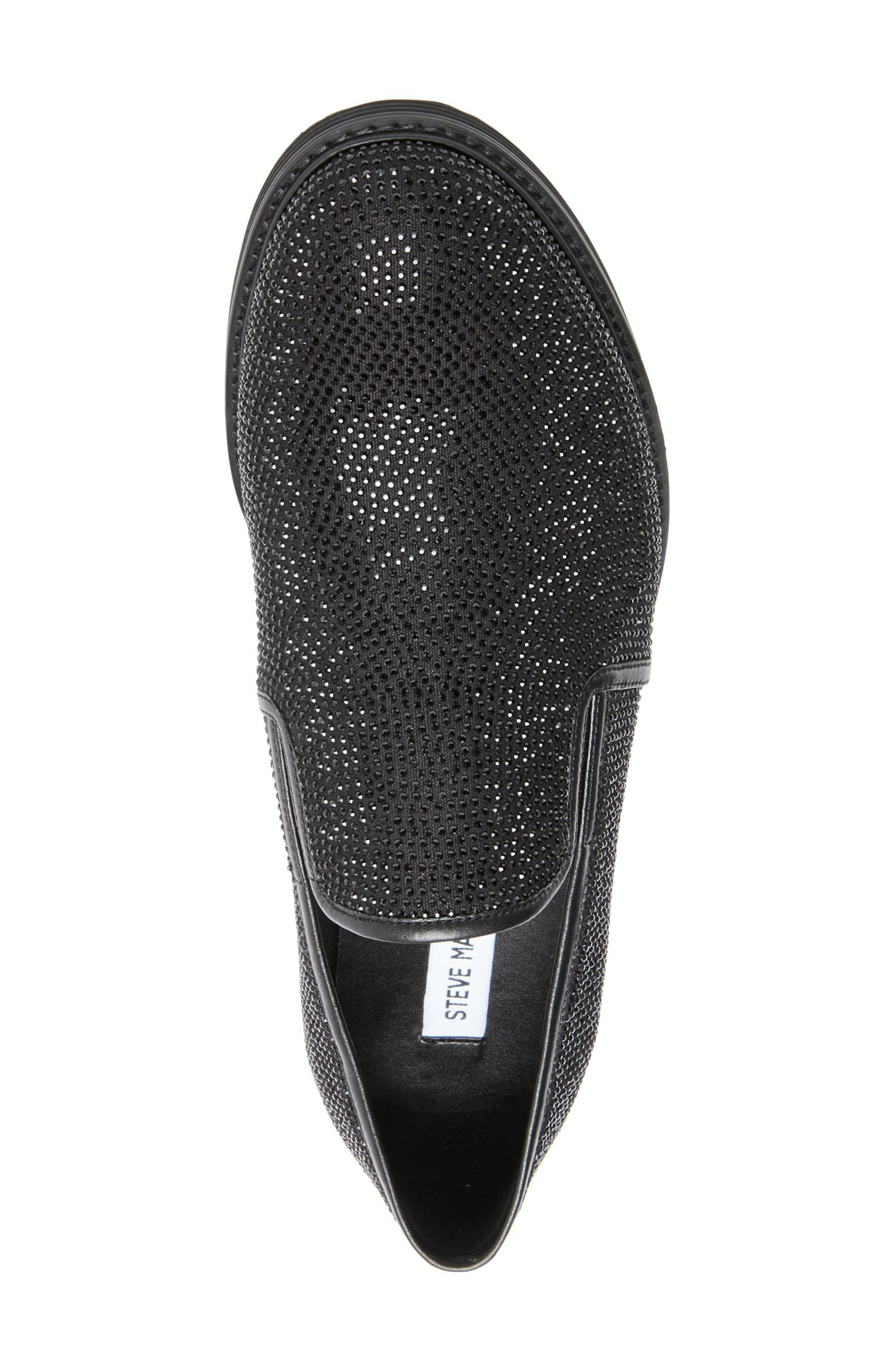 Nasca Studded Slip-On,                             Alternate thumbnail 4, color,                             BLACK