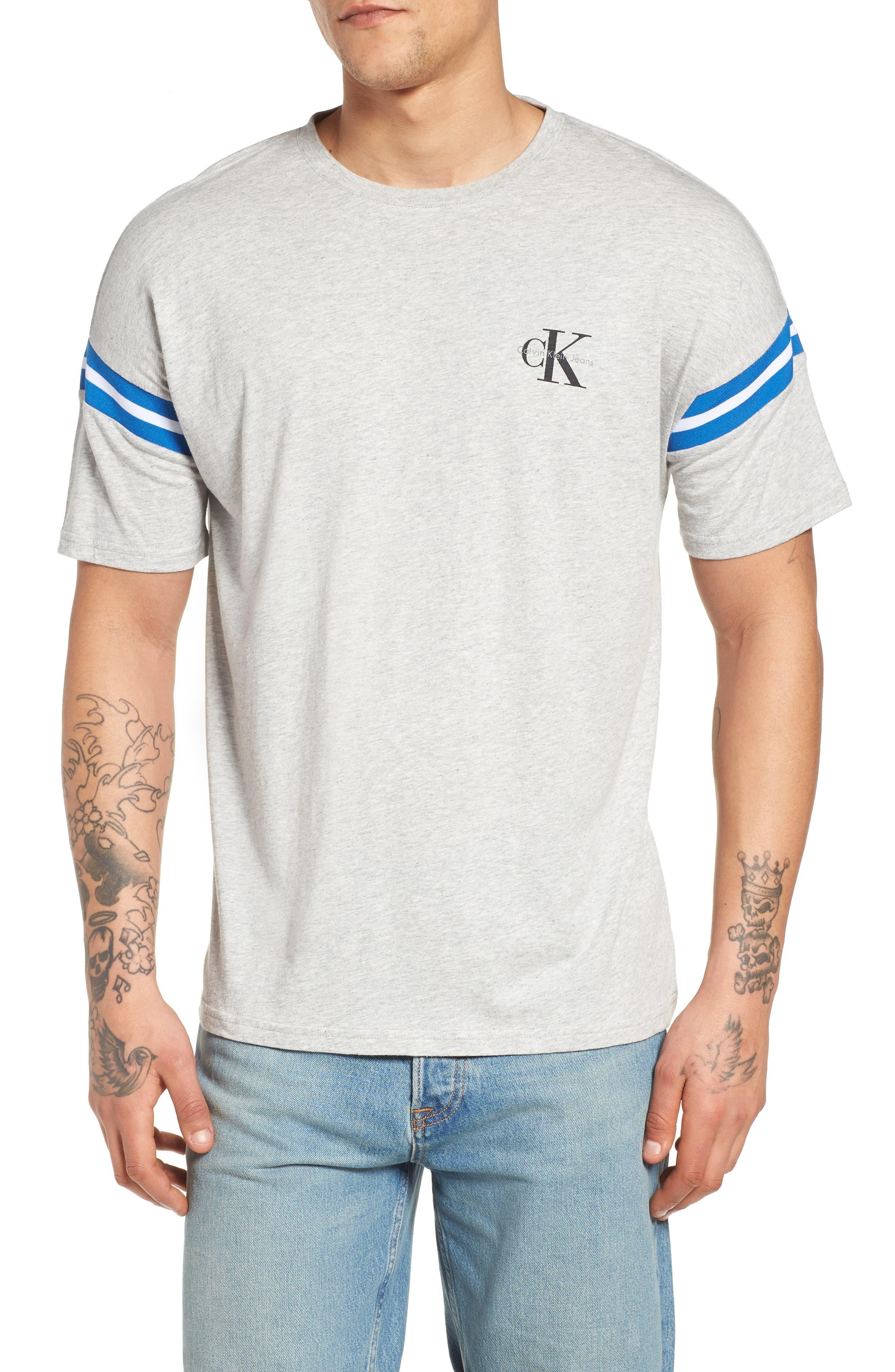 Tipped T-Shirt,                             Main thumbnail 1, color,                             074