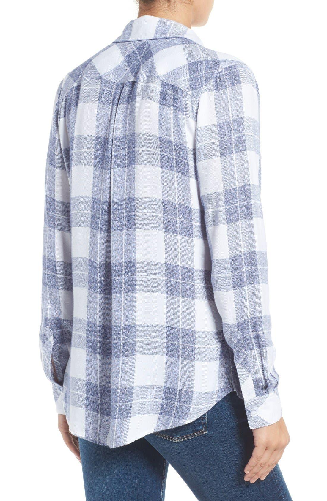 Hunter Plaid Shirt,                             Alternate thumbnail 395, color,