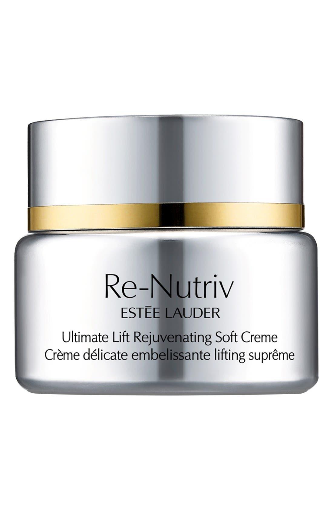 Re-Nutriv Ultimate Lift Rejuvenating Soft Crème,                             Main thumbnail 1, color,                             000