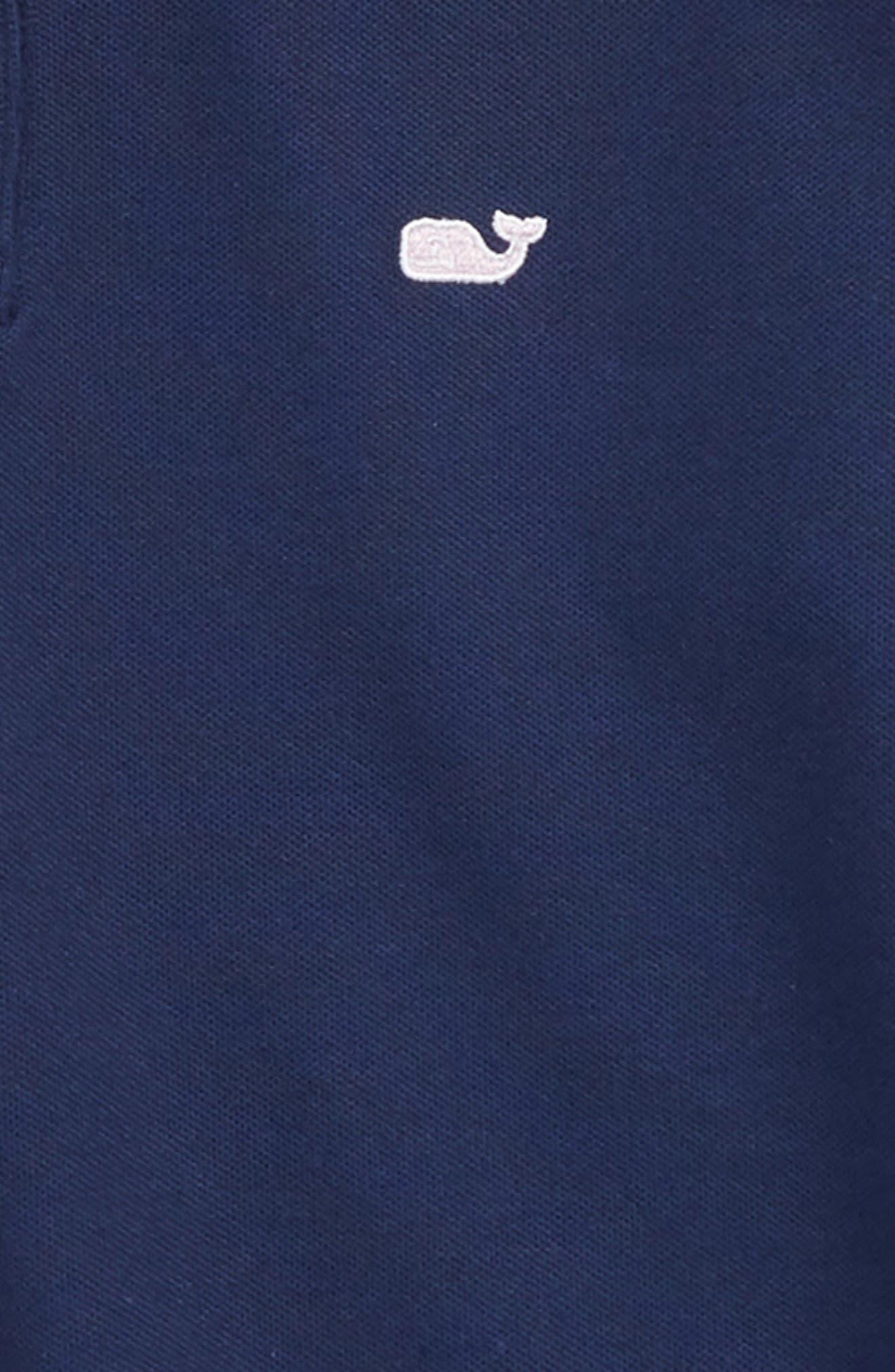 Long Sleeve Pique Polo,                             Alternate thumbnail 2, color,                             400