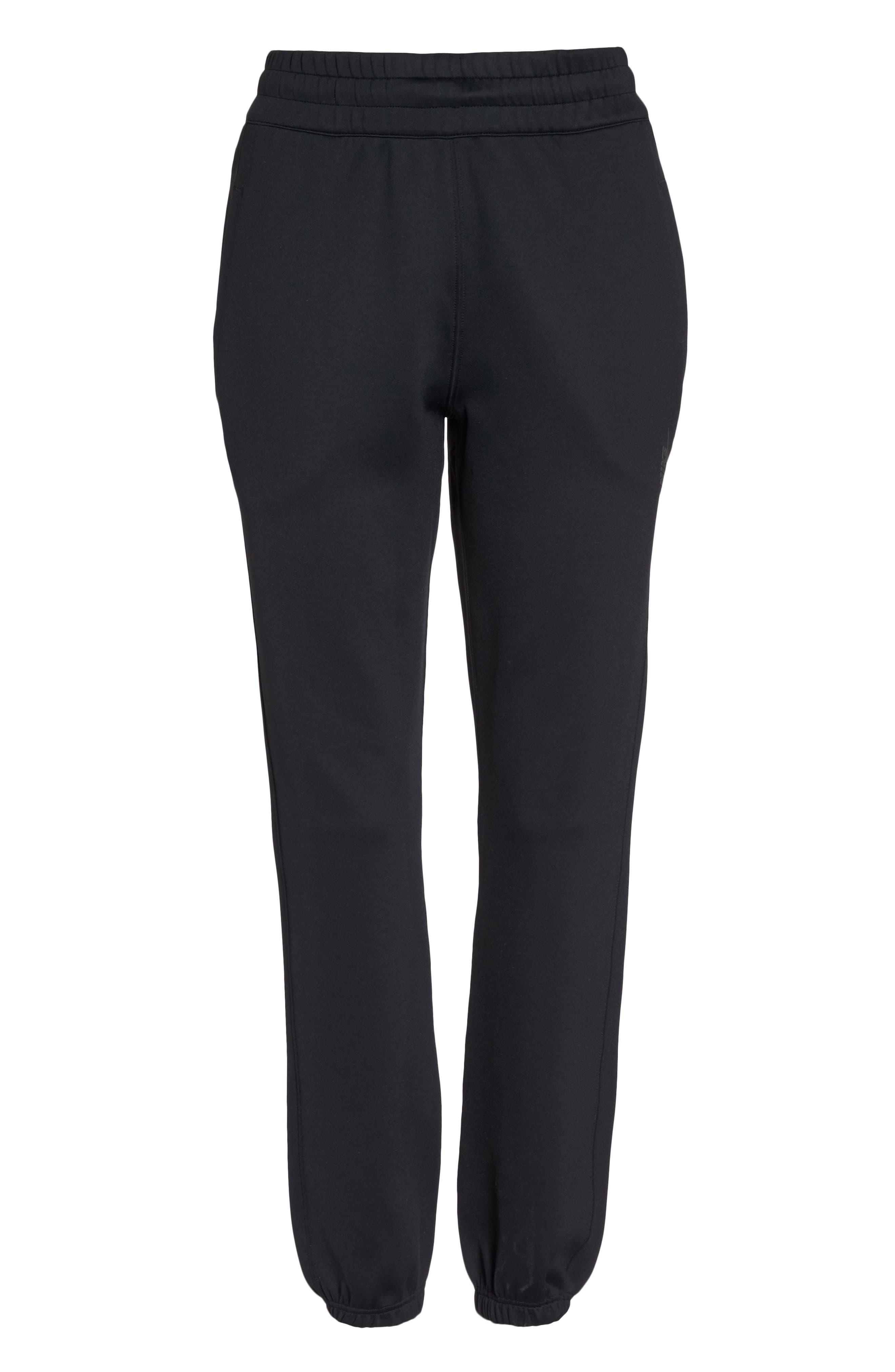 NikeLab Essentials Women's Fleece Pants,                             Alternate thumbnail 7, color,                             010