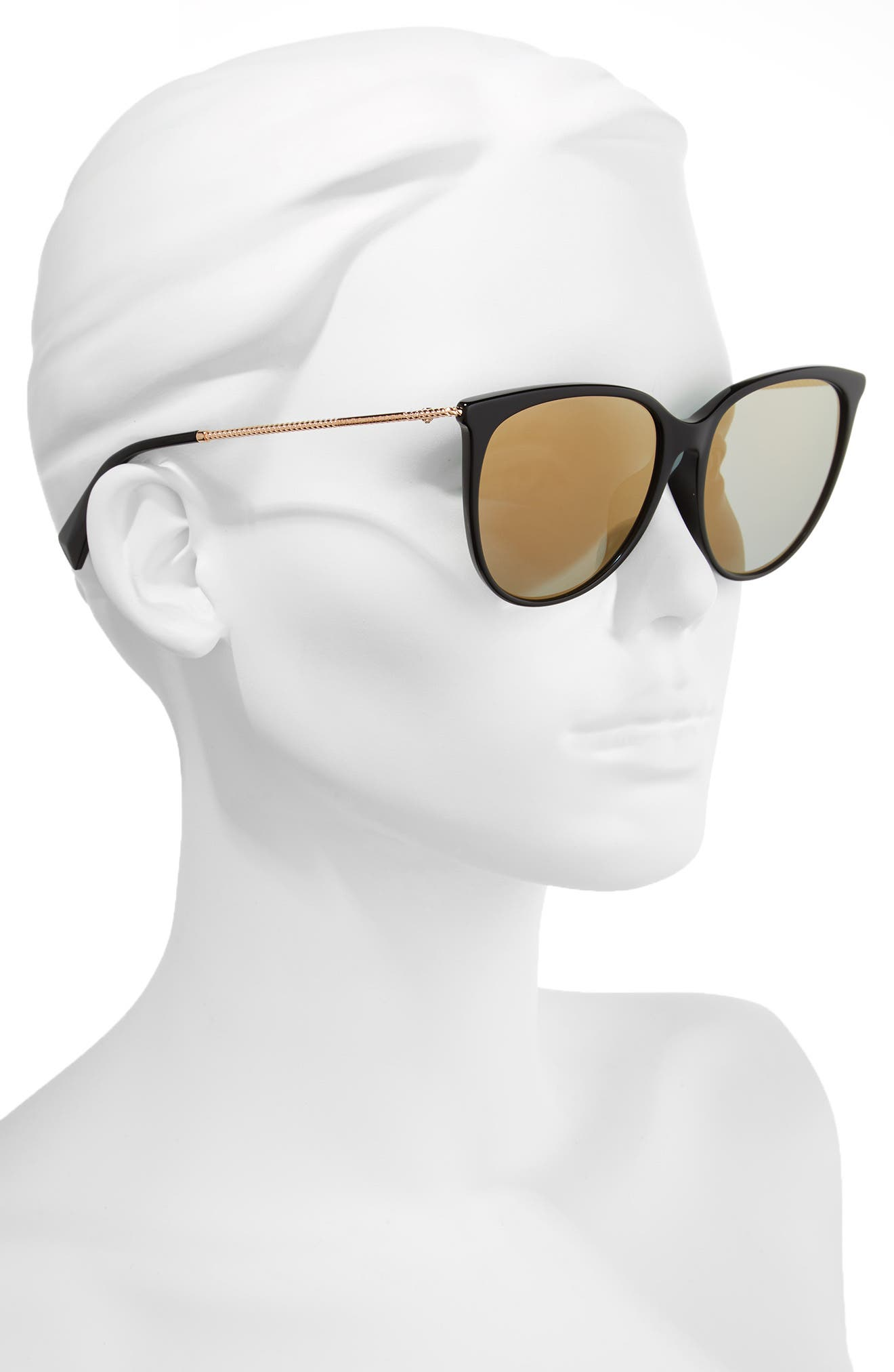 MARC JACOBS,                             56mm Cat Eye Sunglasses,                             Alternate thumbnail 2, color,                             001