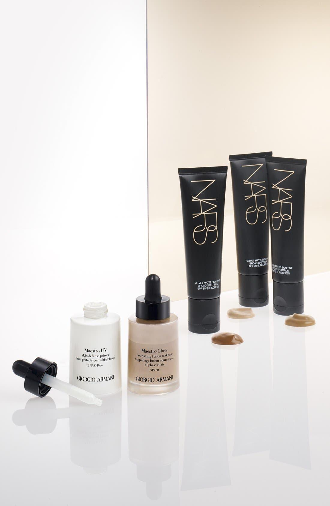 GIORGIO ARMANI,                             Maestro UV Skin Defense Primer Sunscreen SPF 50,                             Alternate thumbnail 3, color,                             NO COLOR