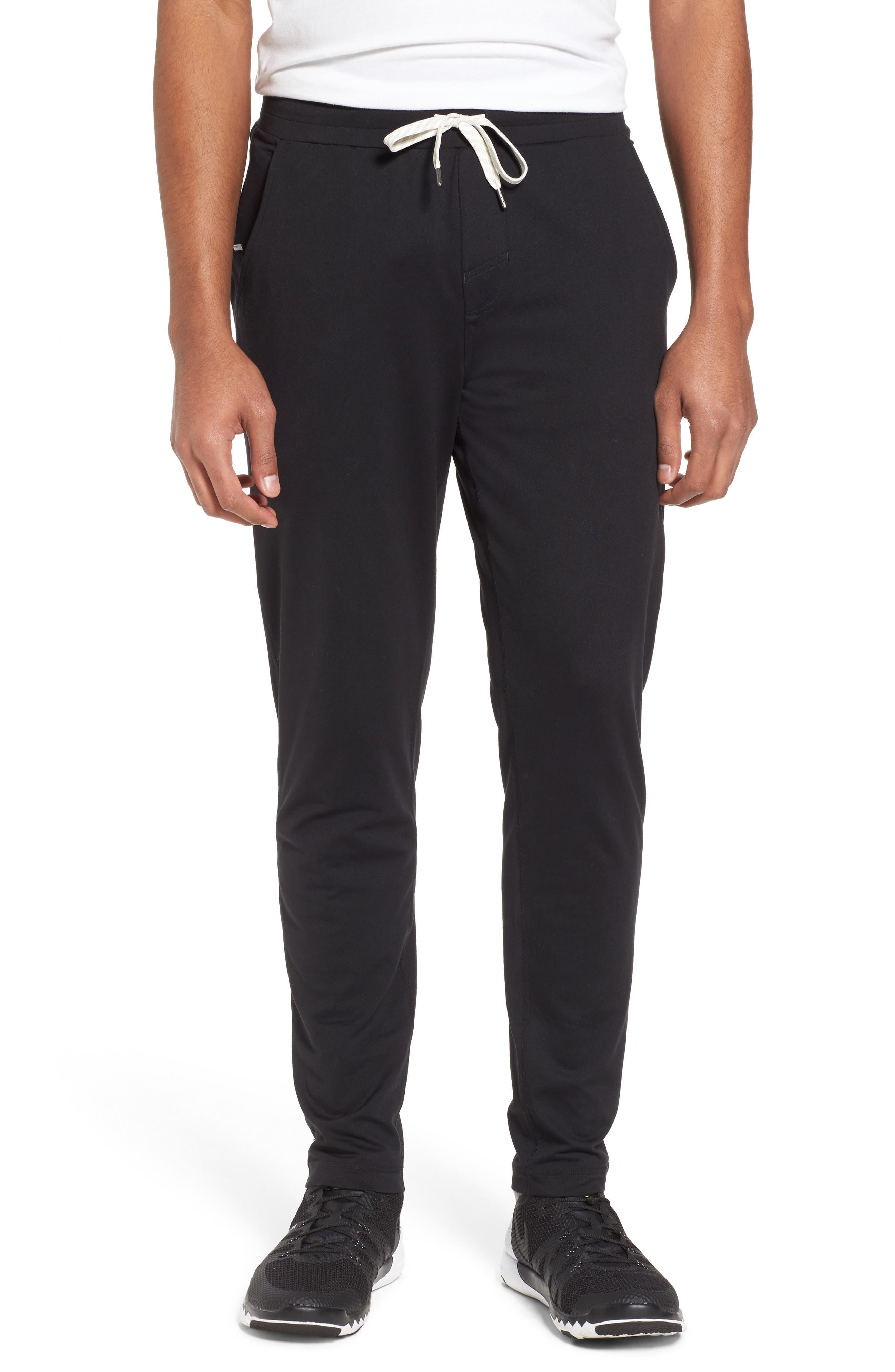 Ponto Jogger Pants,                         Main,                         color, BLACK