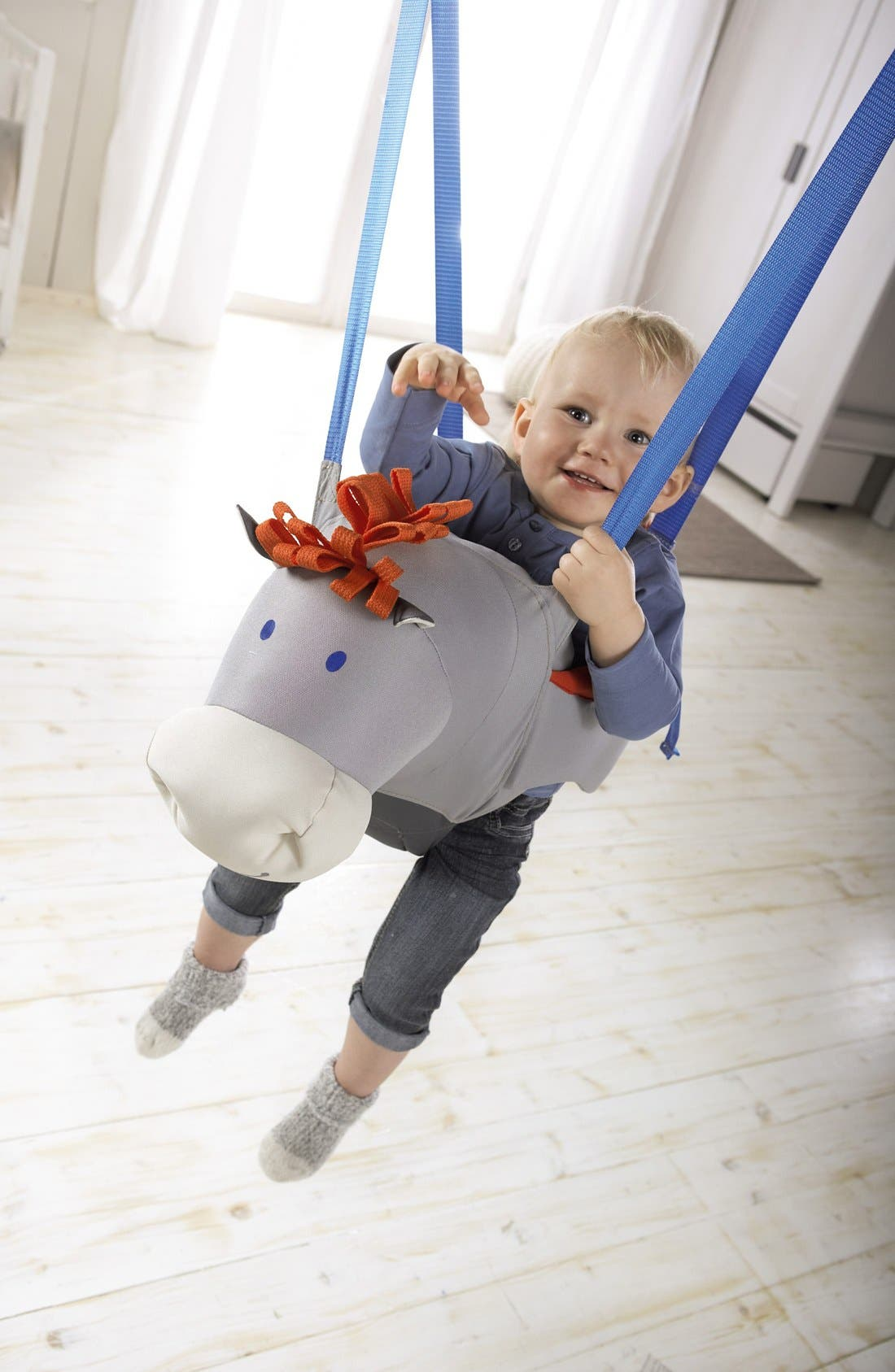 Horse Baby Swing,                             Alternate thumbnail 5, color,                             100
