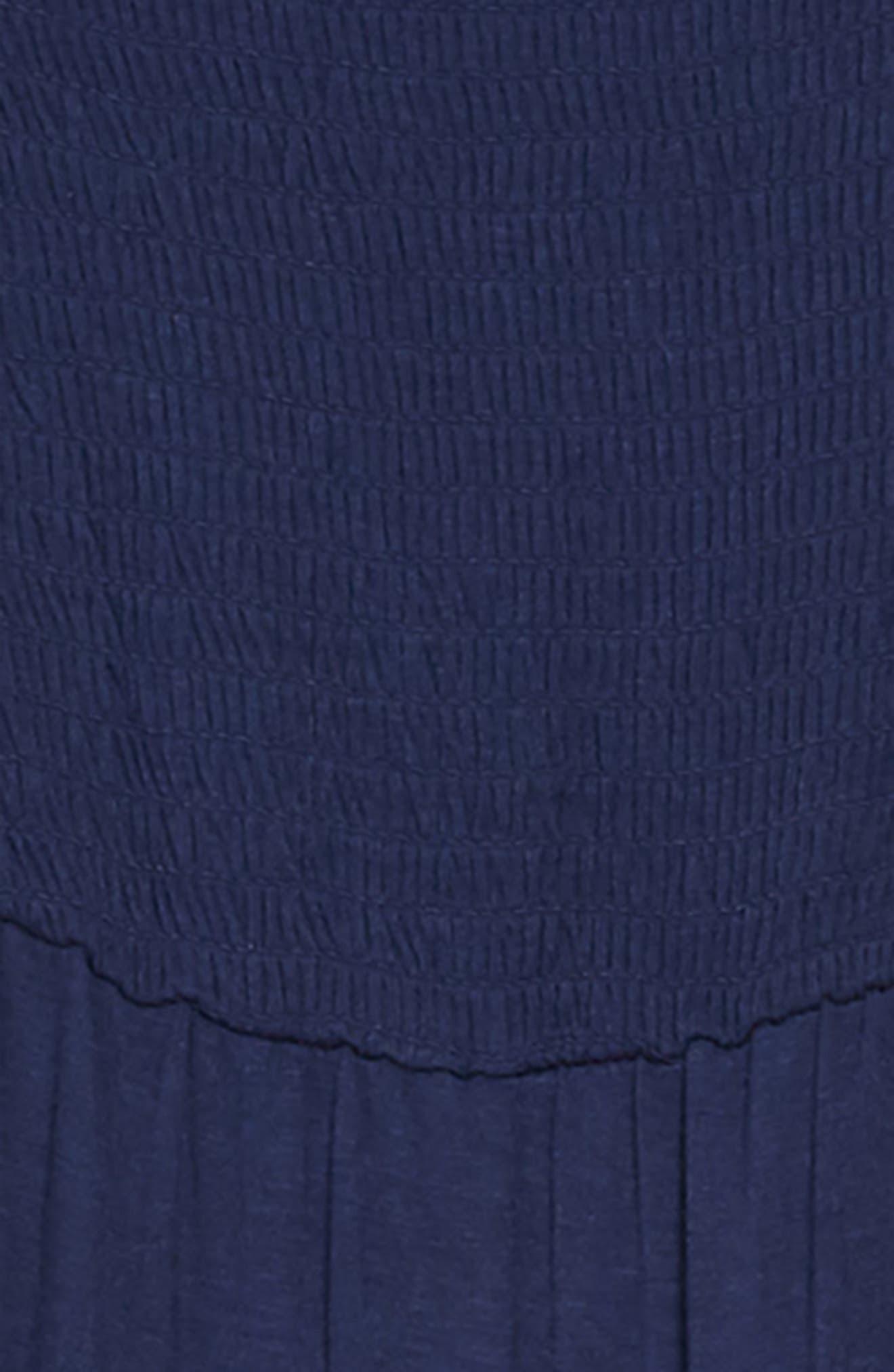 Off the Shoulder Knit Jumpsuit,                             Alternate thumbnail 2, color,                             400