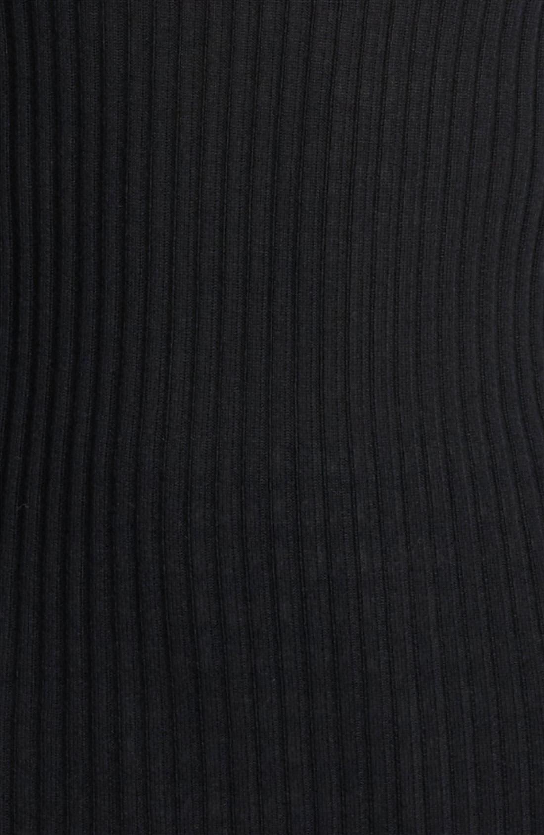 Cashmere & Silk Turtleneck,                             Alternate thumbnail 2, color,                             001