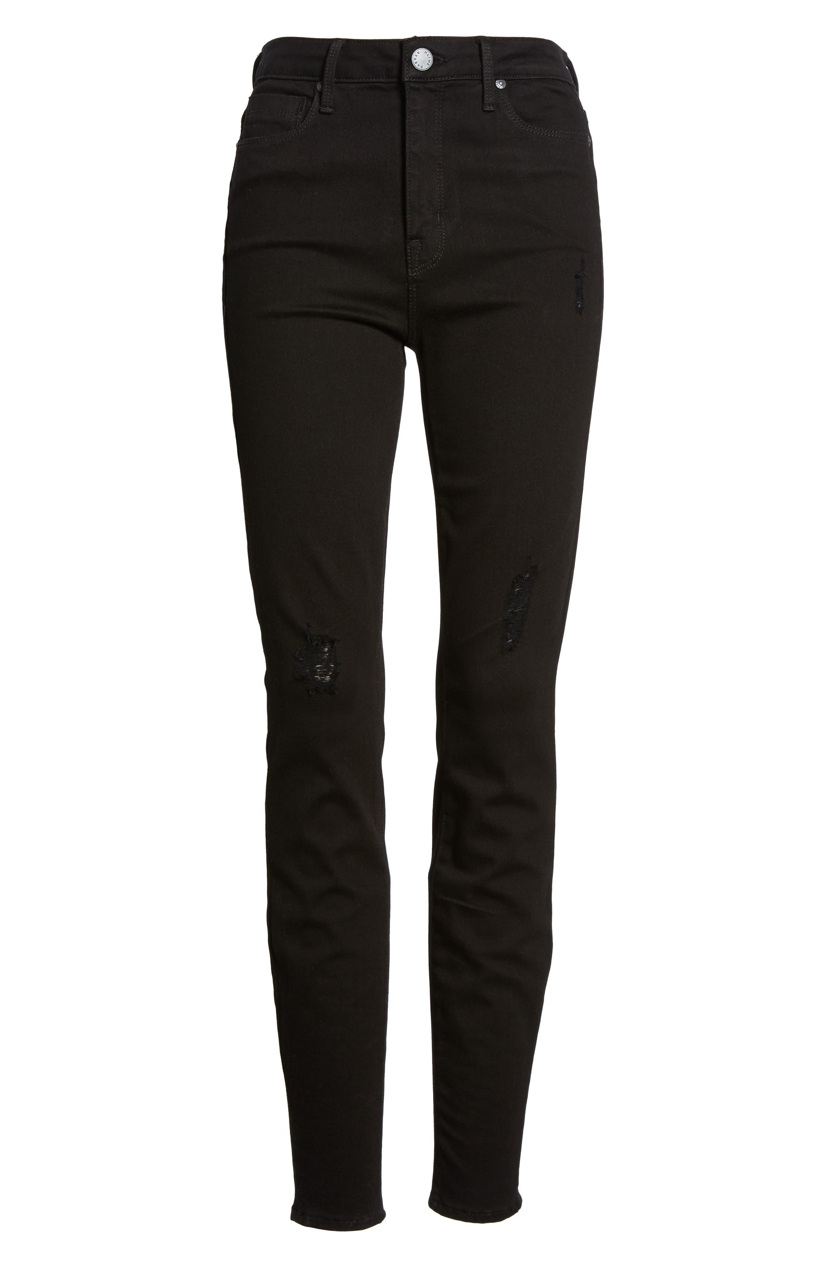 Bombshell Skinny Jeans,                             Alternate thumbnail 7, color,                             001