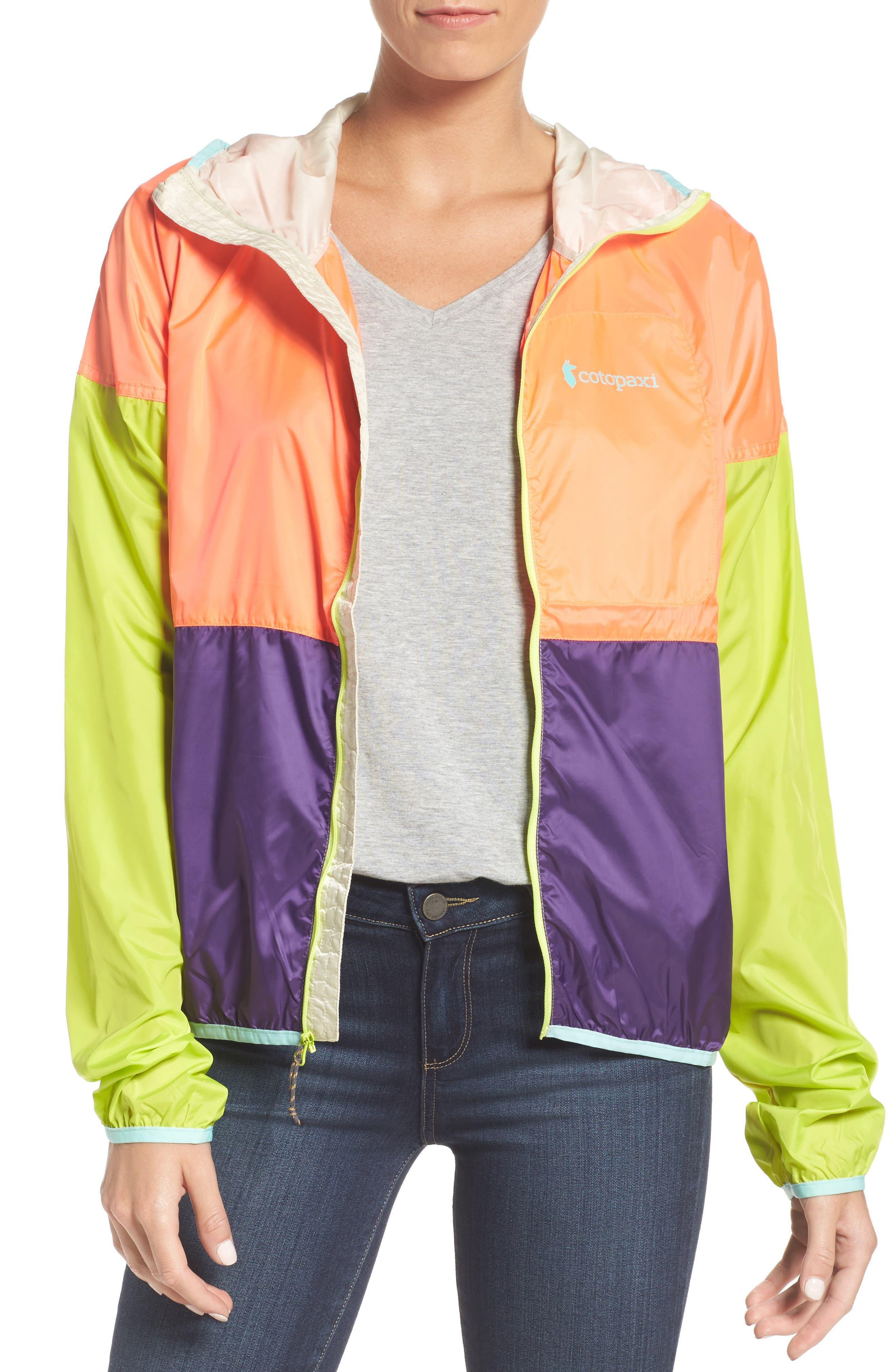 Teca Packable Water Resistant Windbreaker Jacket,                         Main,                         color,