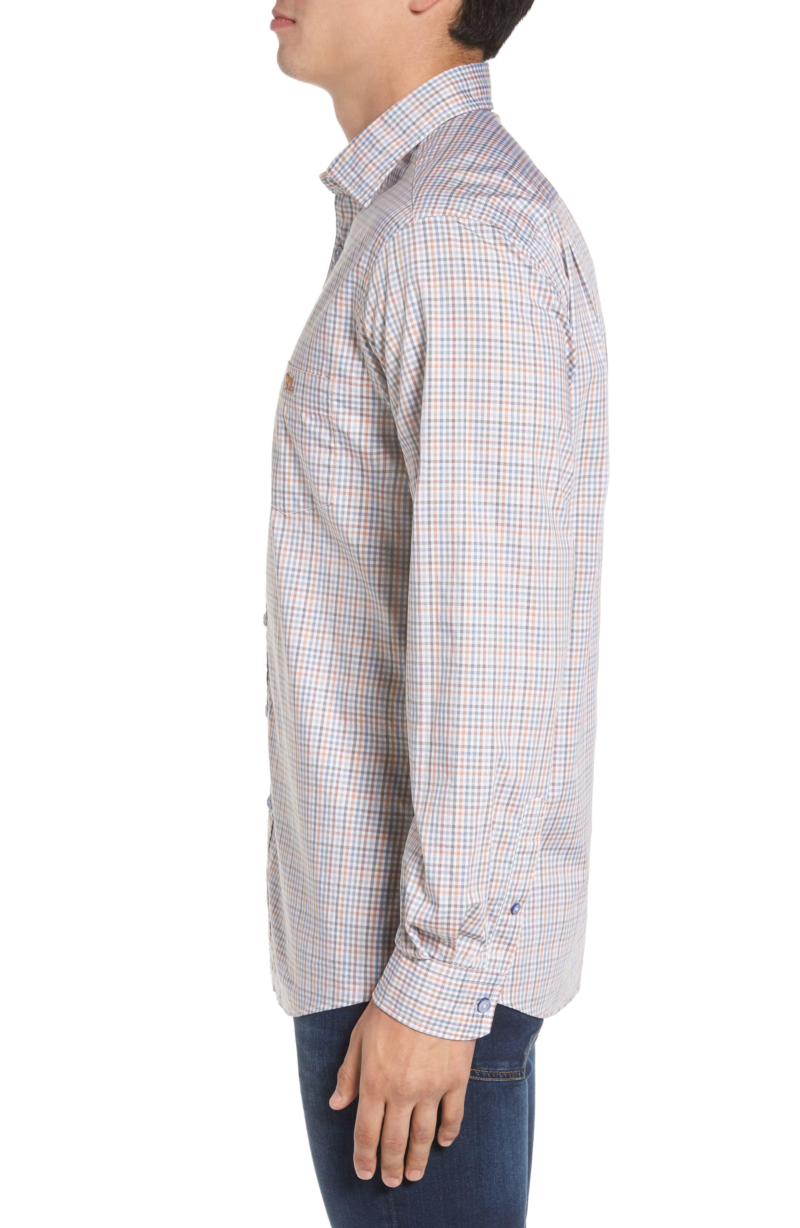 Woodlaw Original Fit Check Sport Shirt,                             Alternate thumbnail 5, color,