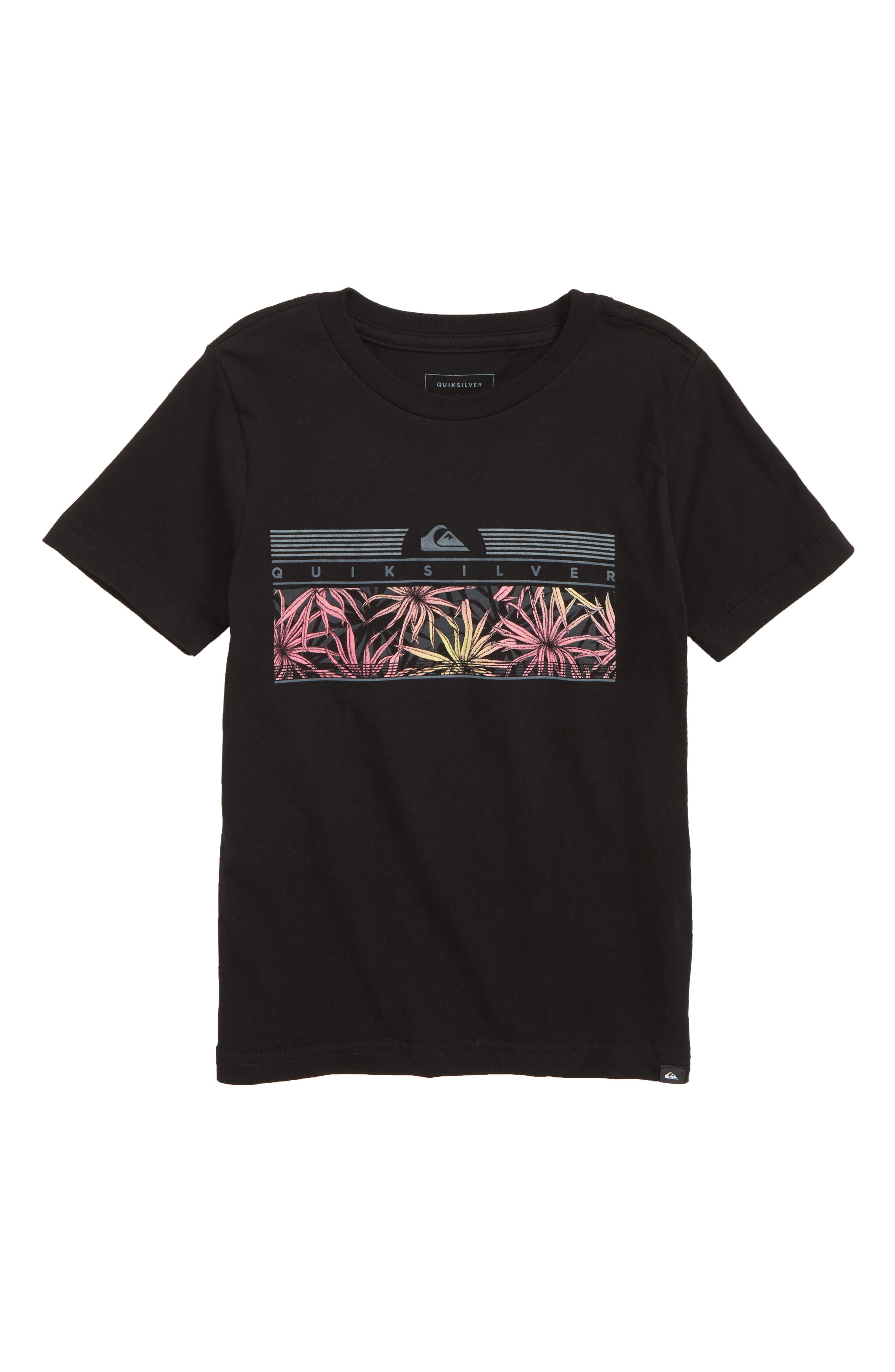 The Jungle T-Shirt, Main, color, BLACK