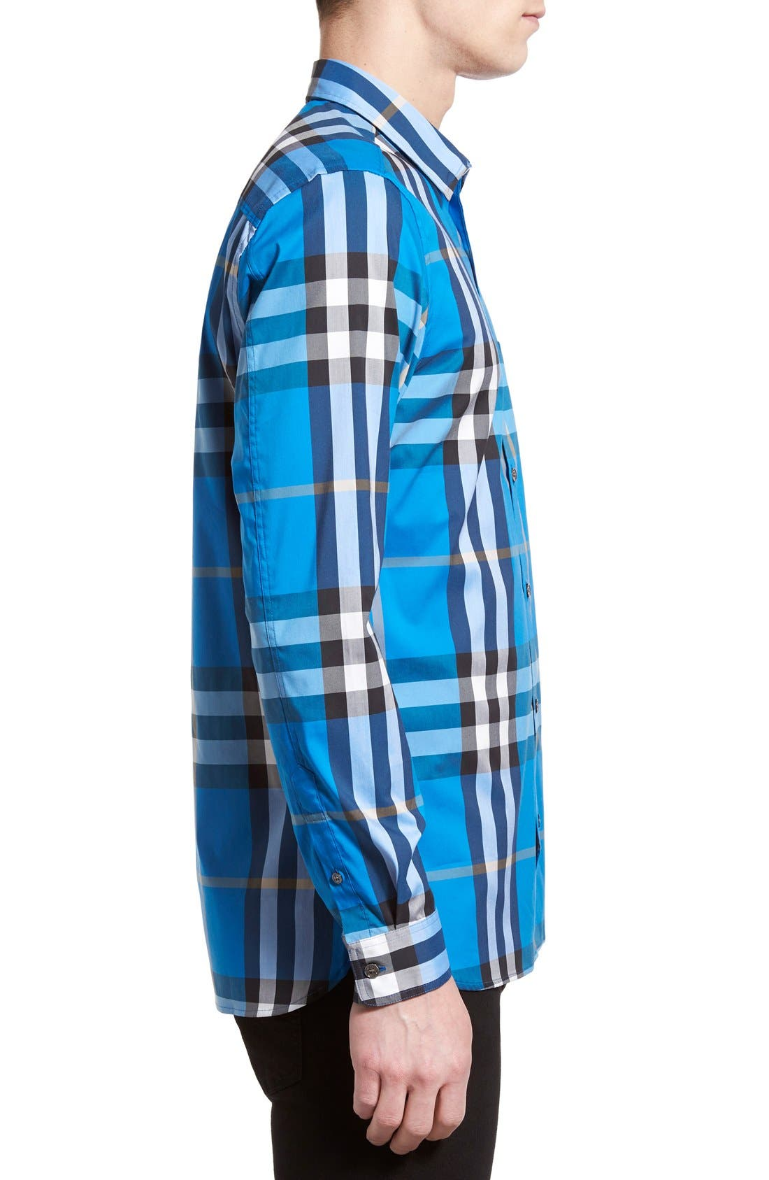 Nelson Check Sport Shirt,                             Alternate thumbnail 67, color,