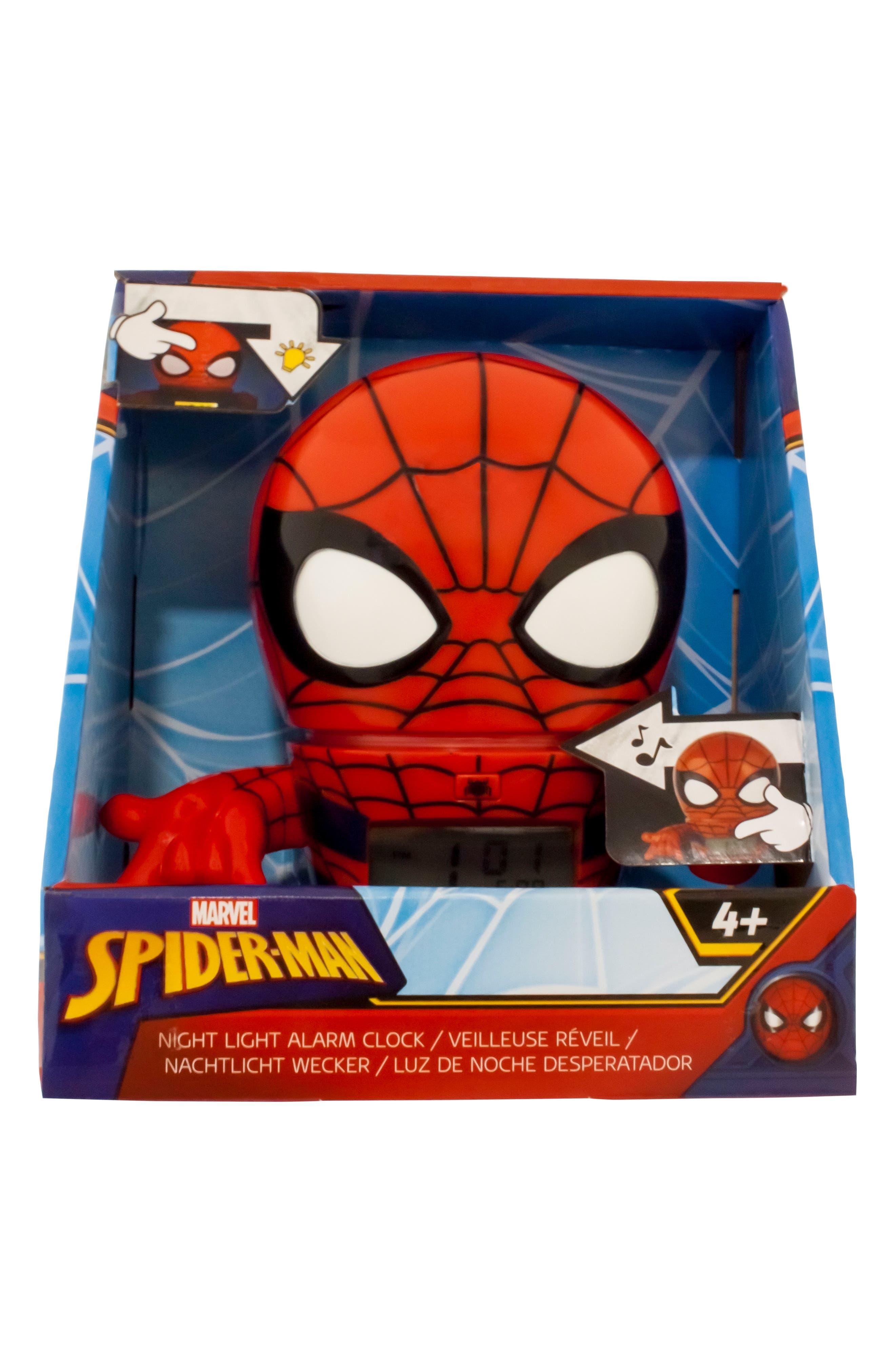Marvel Spider-Man Night-Light/Alarm Clock,                             Alternate thumbnail 2, color,                             600