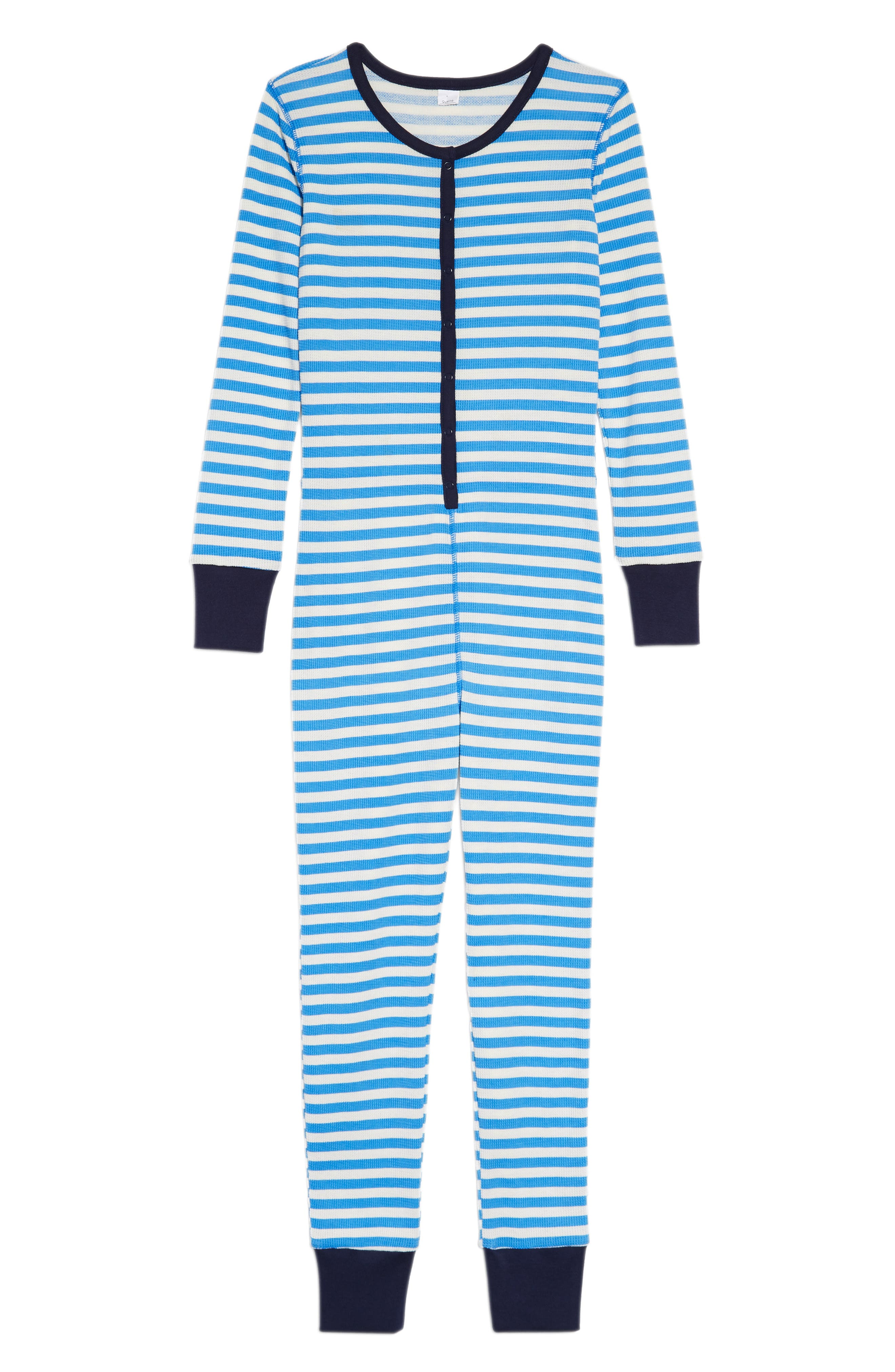 Boys Nordstrom Thermal Fitted OnePiece Pajamas
