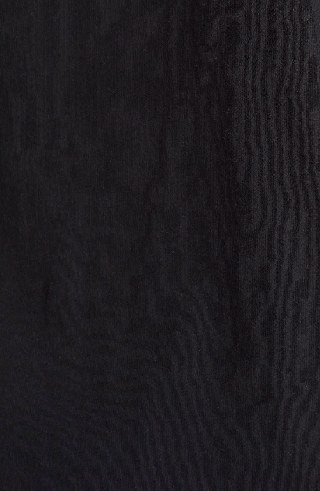 Cotton Jersey T-Shirt,                             Alternate thumbnail 8, color,                             001