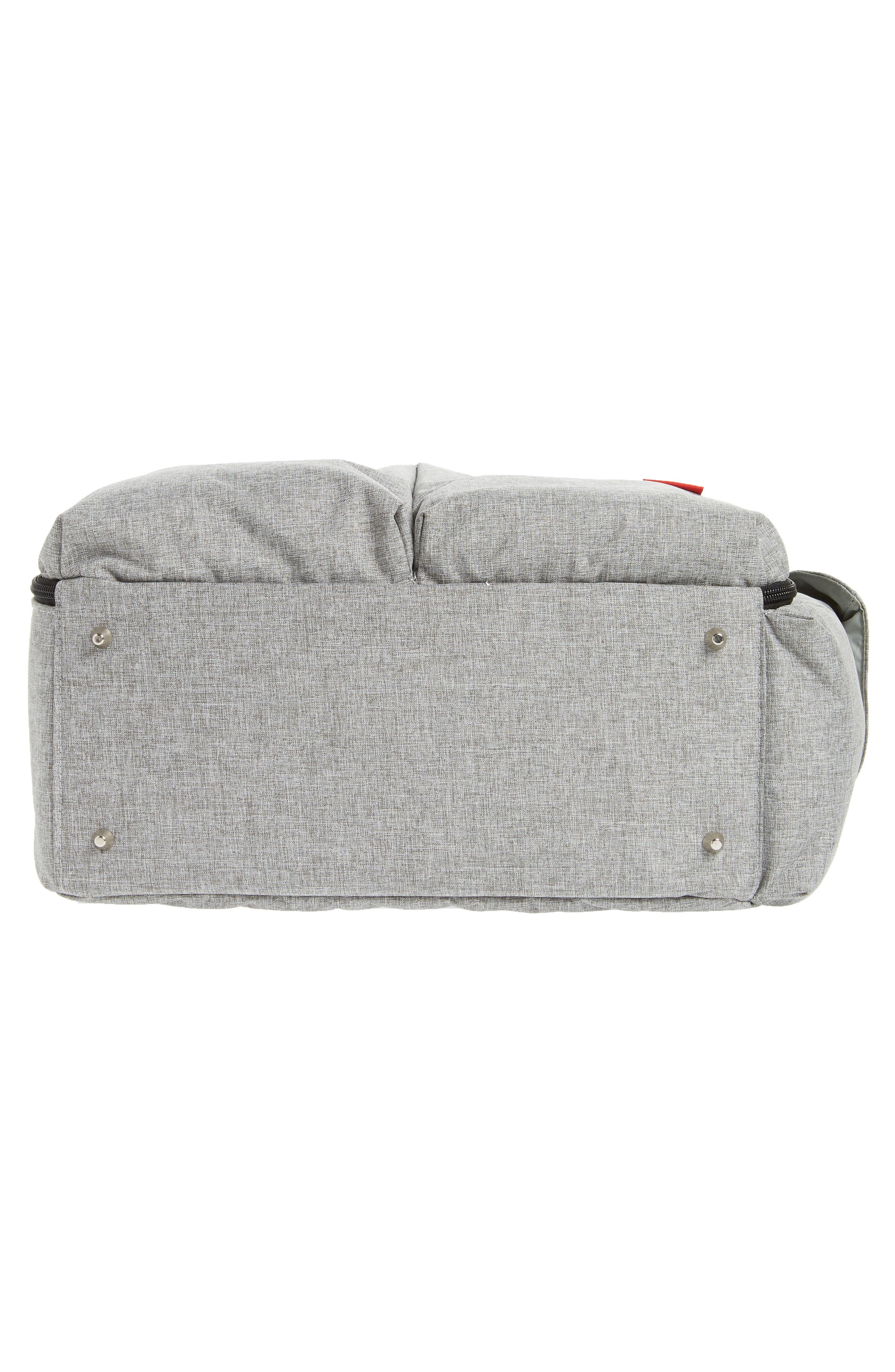 Duo Weekend Diaper Bag,                             Alternate thumbnail 6, color,                             GREY