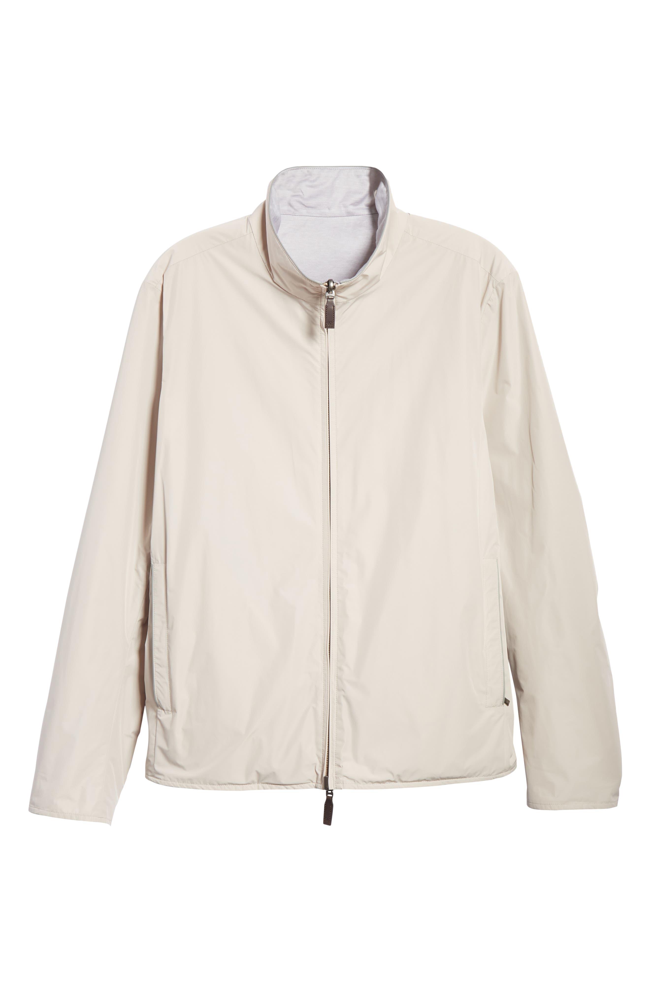 Regular Fit Cotton Jacket,                             Alternate thumbnail 5, color,