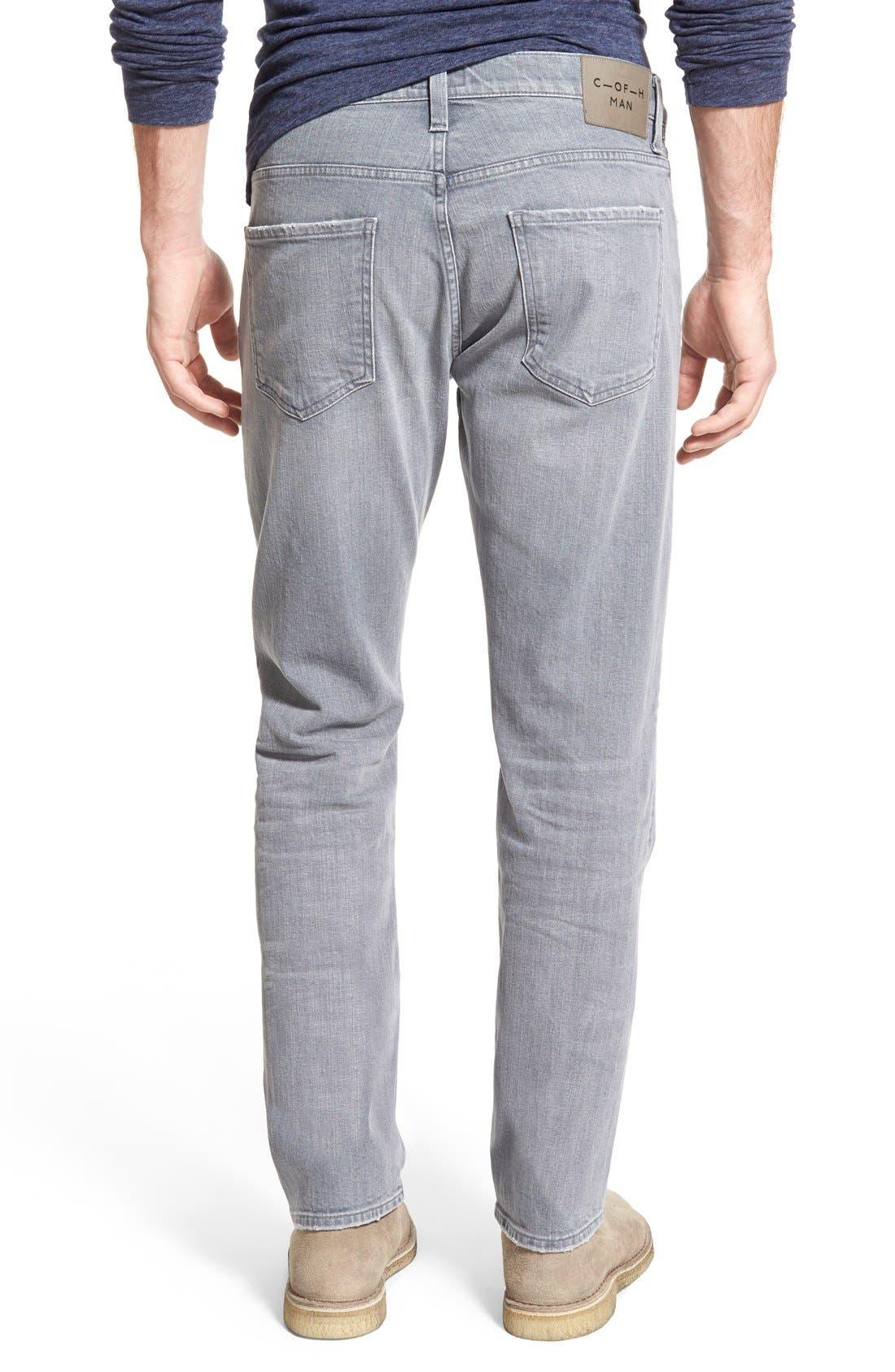 'Gage' Slim Straight Leg Jeans,                             Alternate thumbnail 2, color,                             AKRON