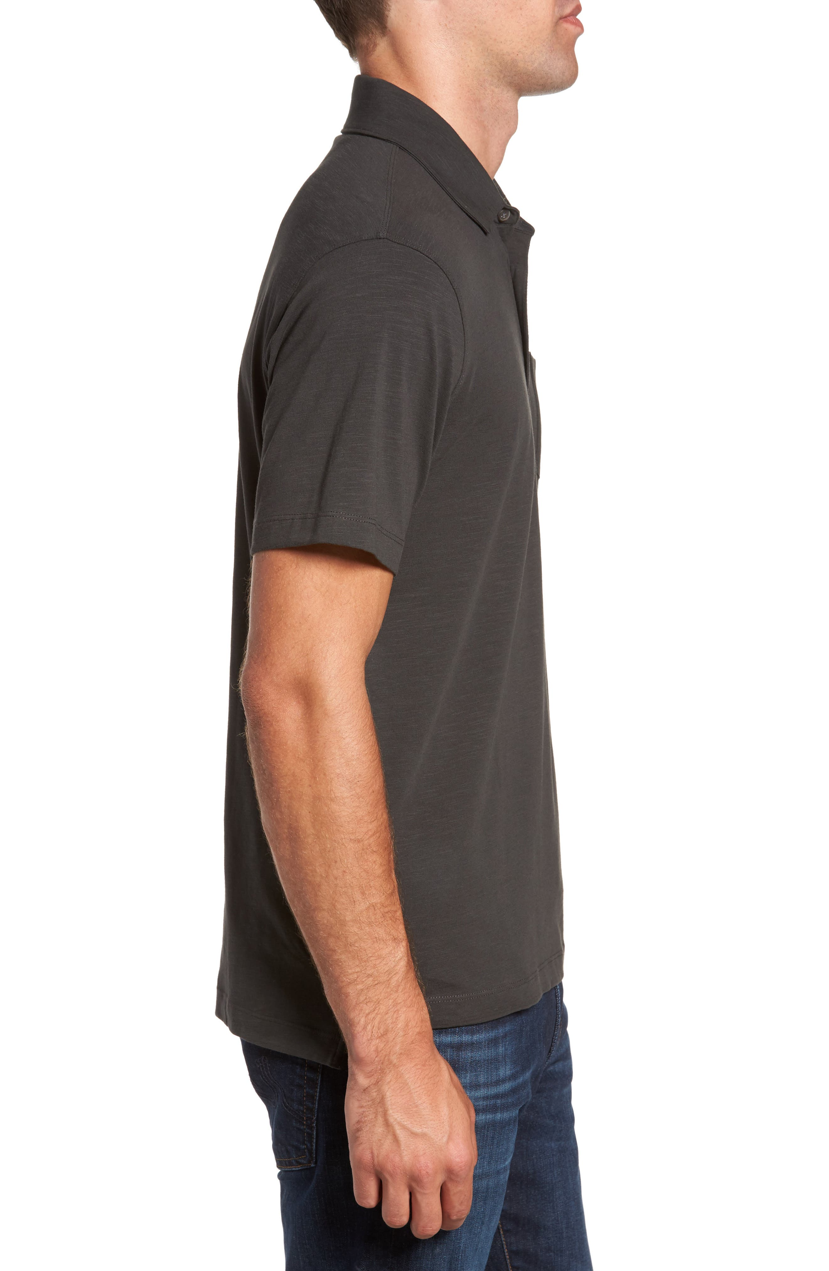 Stretch Slub Jersey Polo,                             Alternate thumbnail 7, color,