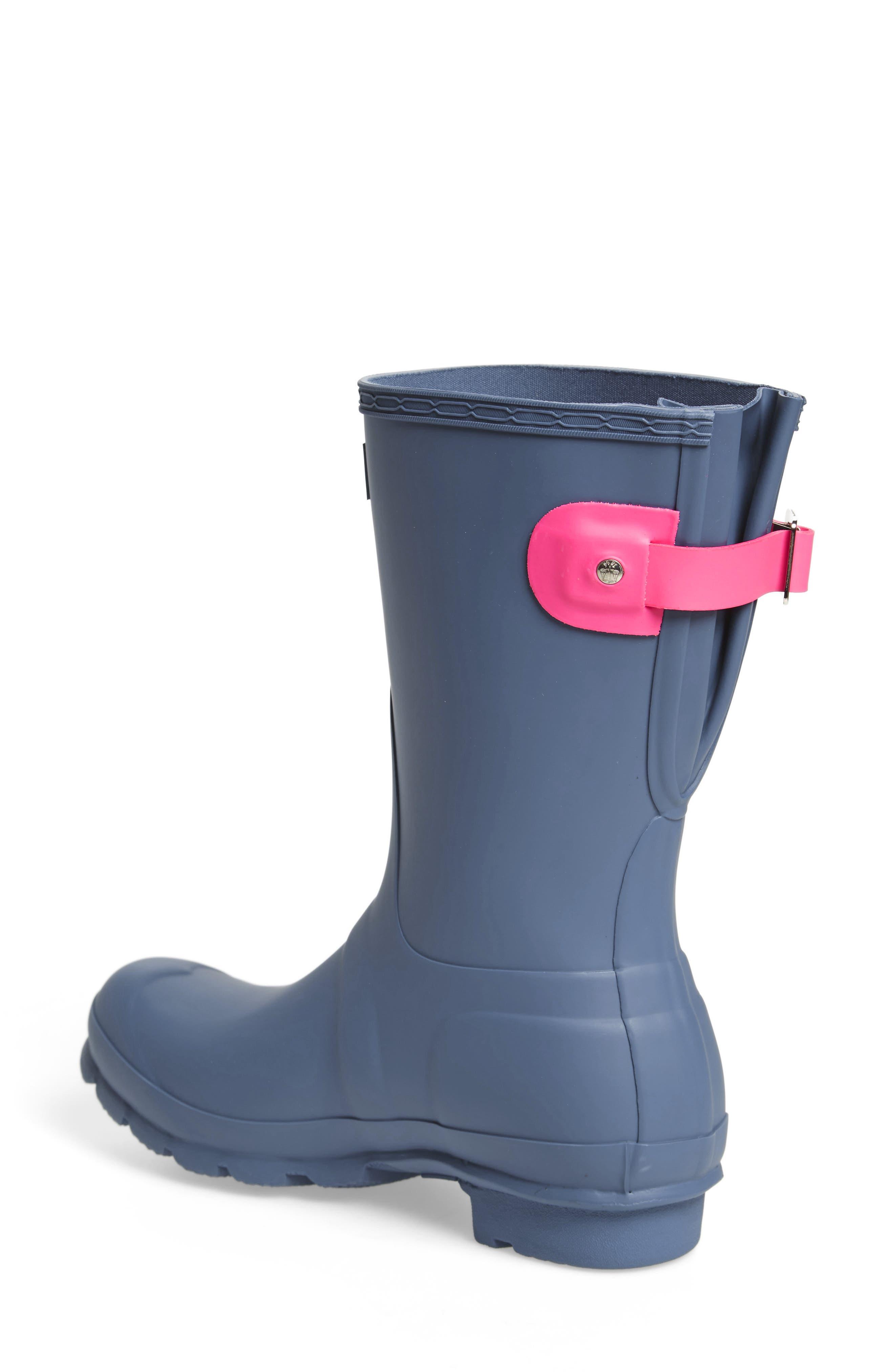Original Short Back Adjustable Rain Boot,                             Alternate thumbnail 17, color,