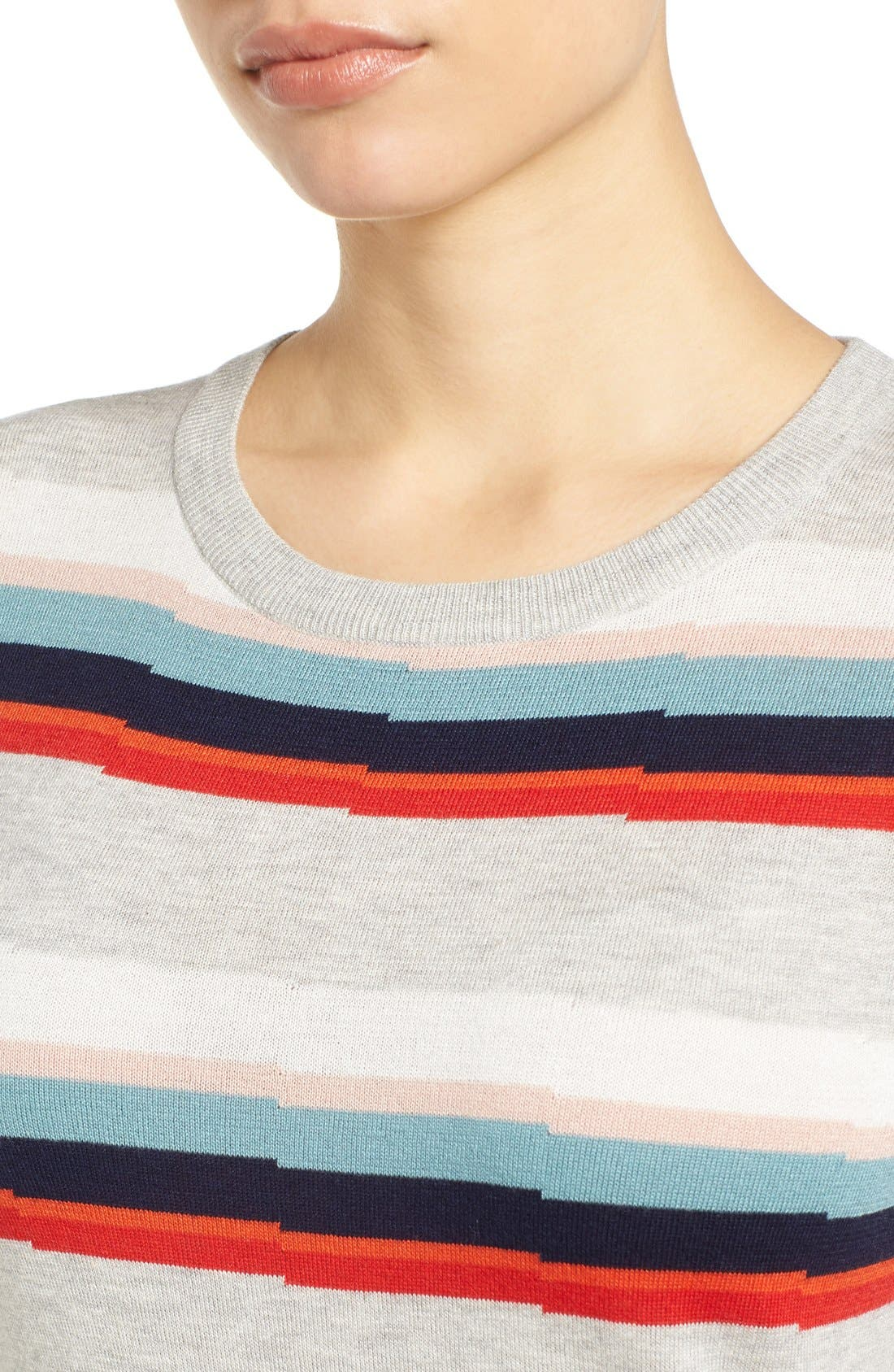 Cotton Blend Pullover,                             Alternate thumbnail 133, color,