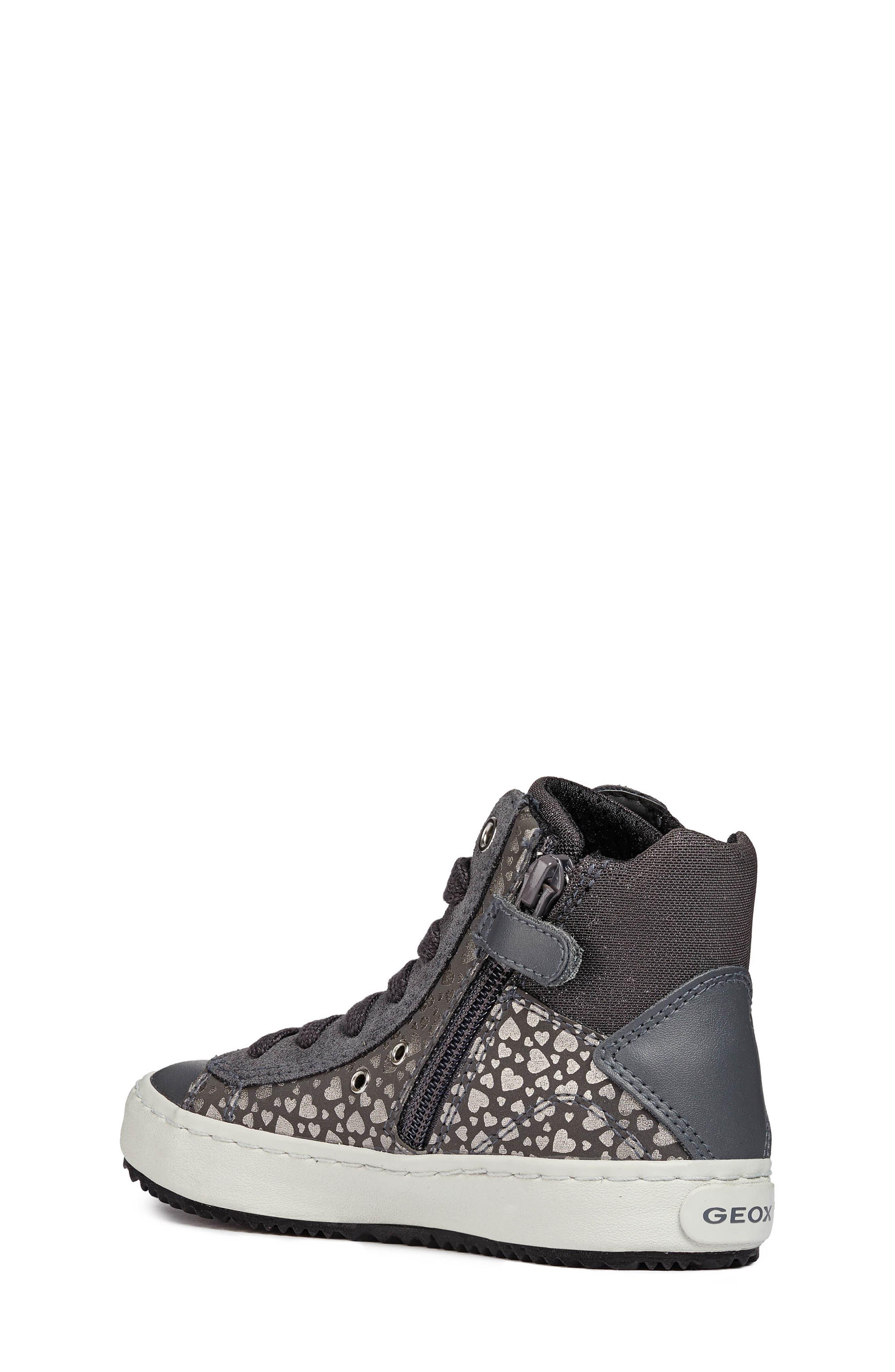 Kalispera High Top Sneaker,                             Alternate thumbnail 2, color,                             DARK GREY