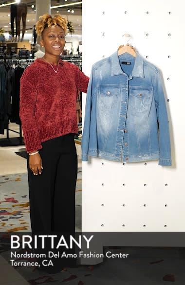 Lily Basic Denim Jacket, sales video thumbnail