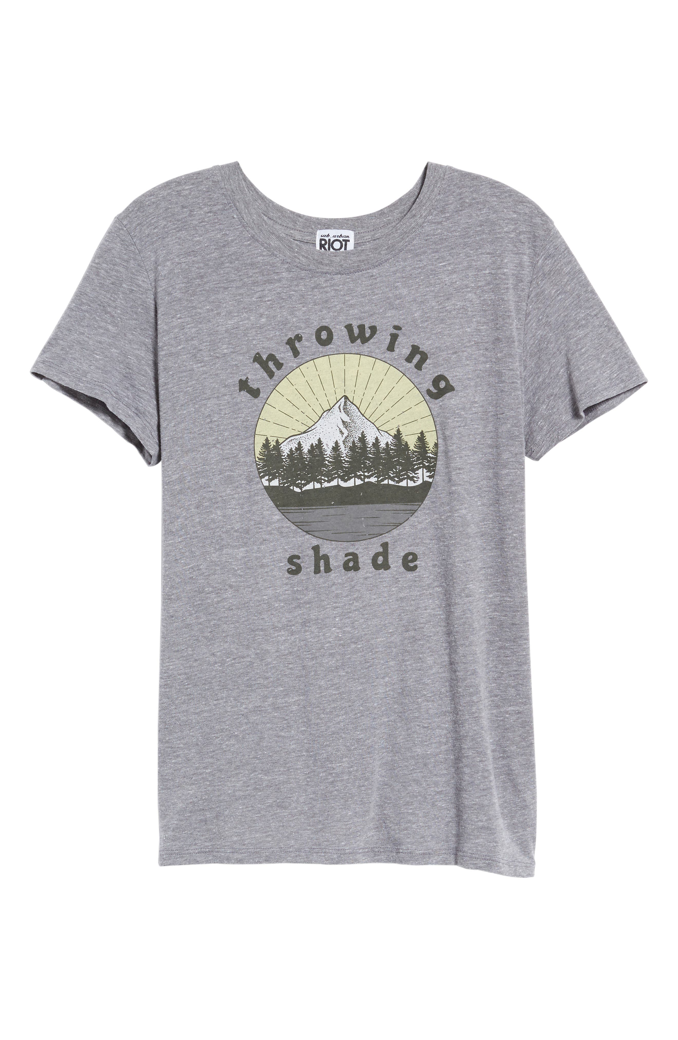 Throwing Shade Graphic Tee,                             Alternate thumbnail 6, color,