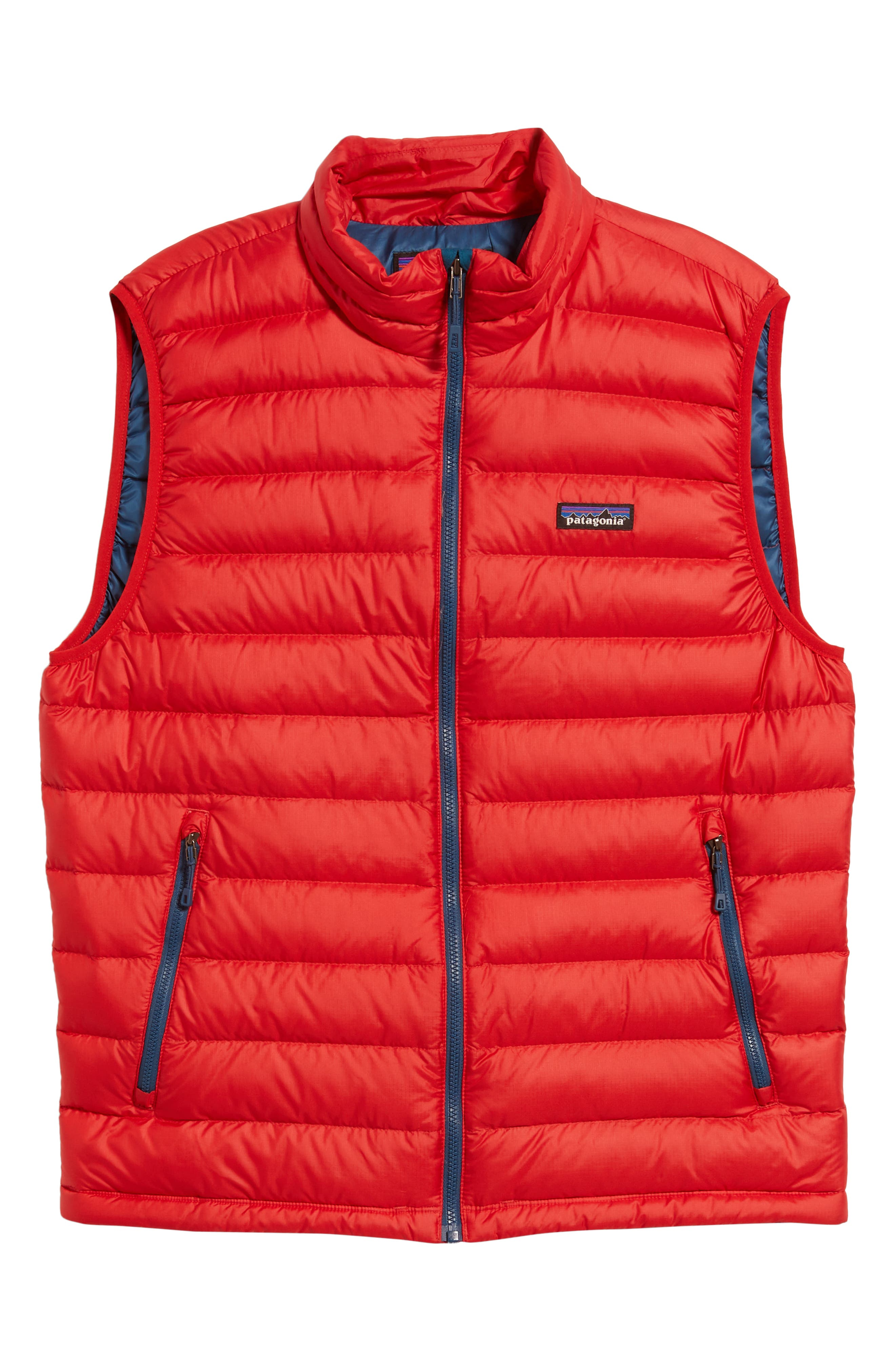 Windproof & Water Resistant 800 Fill Power Down Quilted Vest,                             Alternate thumbnail 41, color,