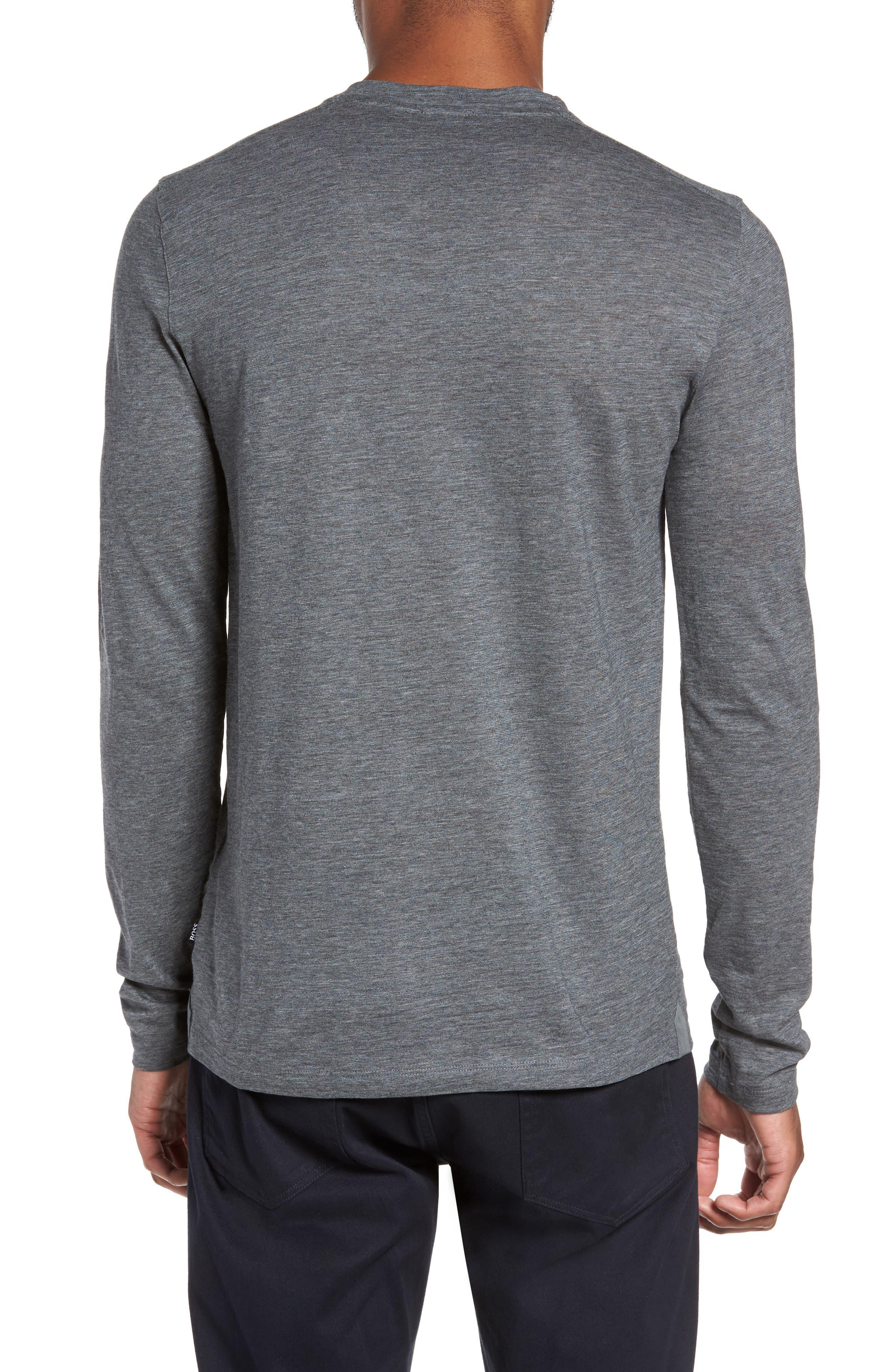 Tenison Long Sleeve T-Shirt,                             Alternate thumbnail 2, color,                             030