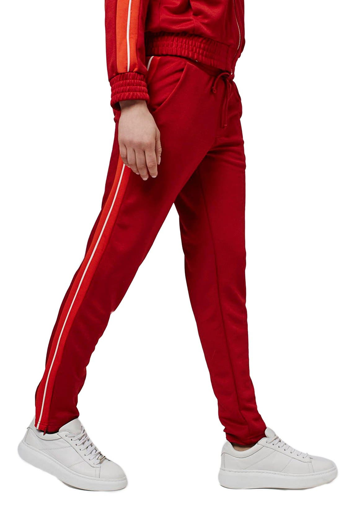 Side Stripe Track Pants,                             Main thumbnail 1, color,                             600