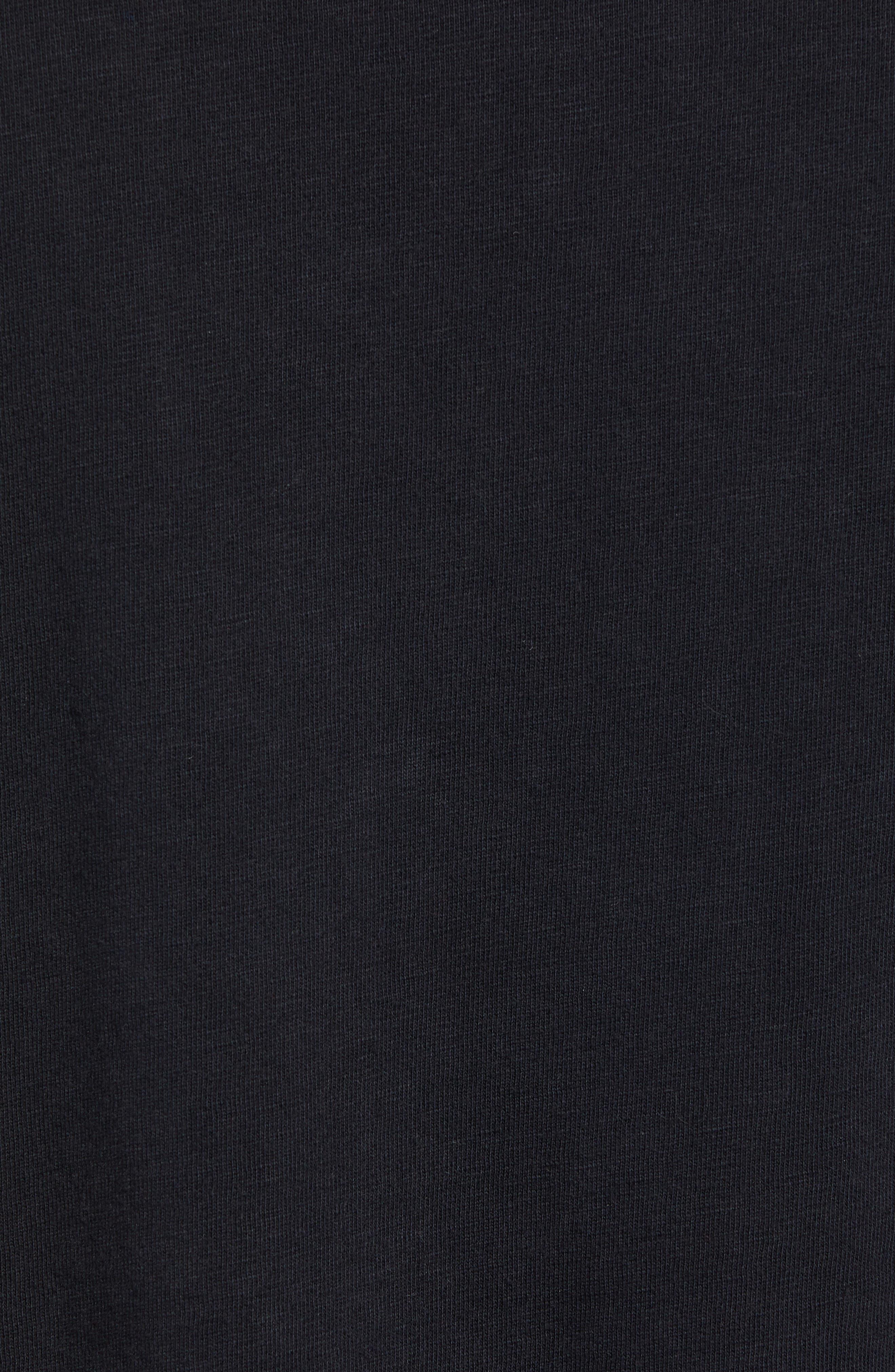 Murphy's Law Graphic T-Shirt,                             Alternate thumbnail 5, color,                             BLACK