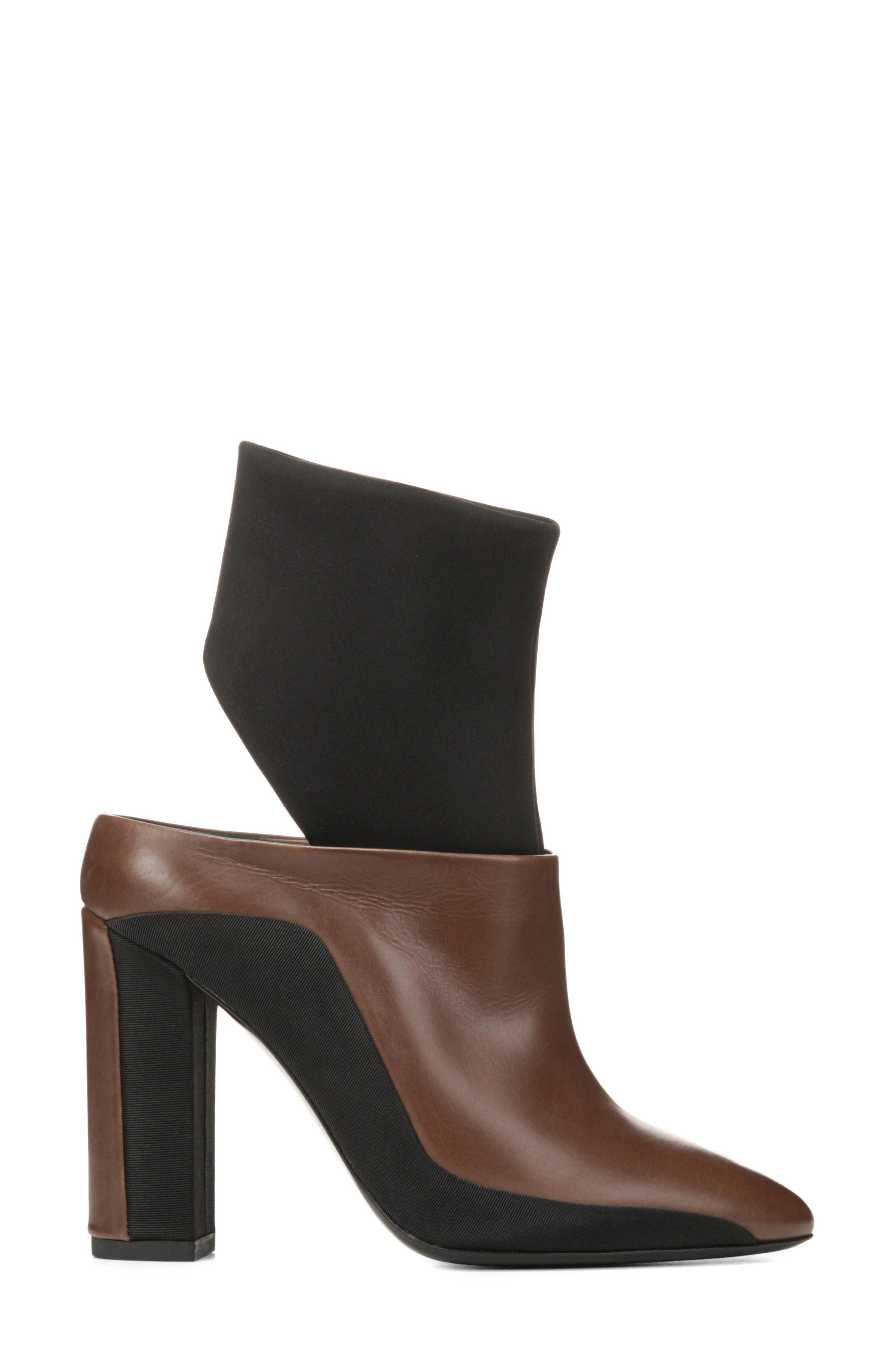 Agyness Cutout Boot,                             Alternate thumbnail 8, color,