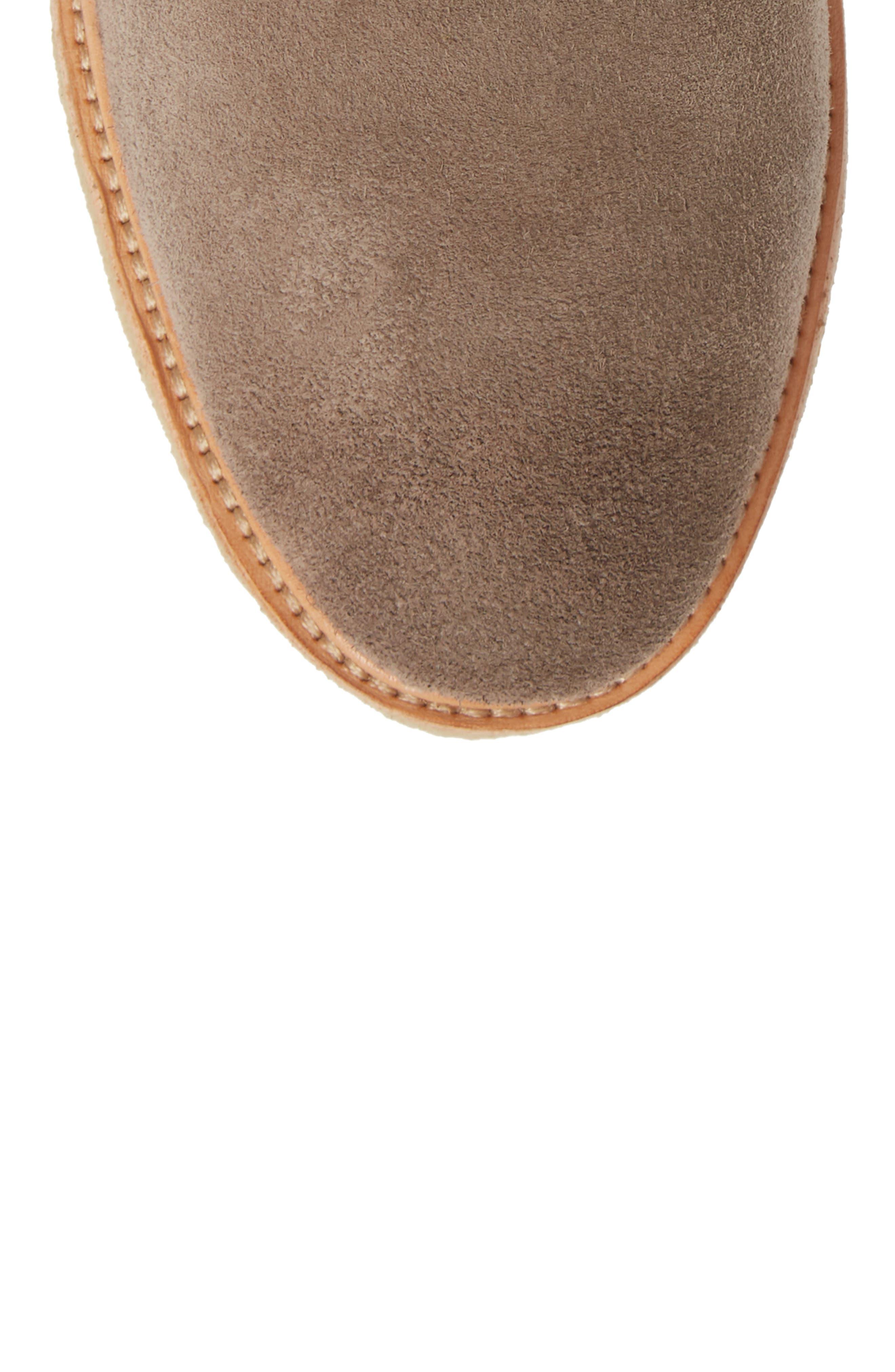 QM23 Plain Toe Boot,                             Alternate thumbnail 5, color,                             GREY
