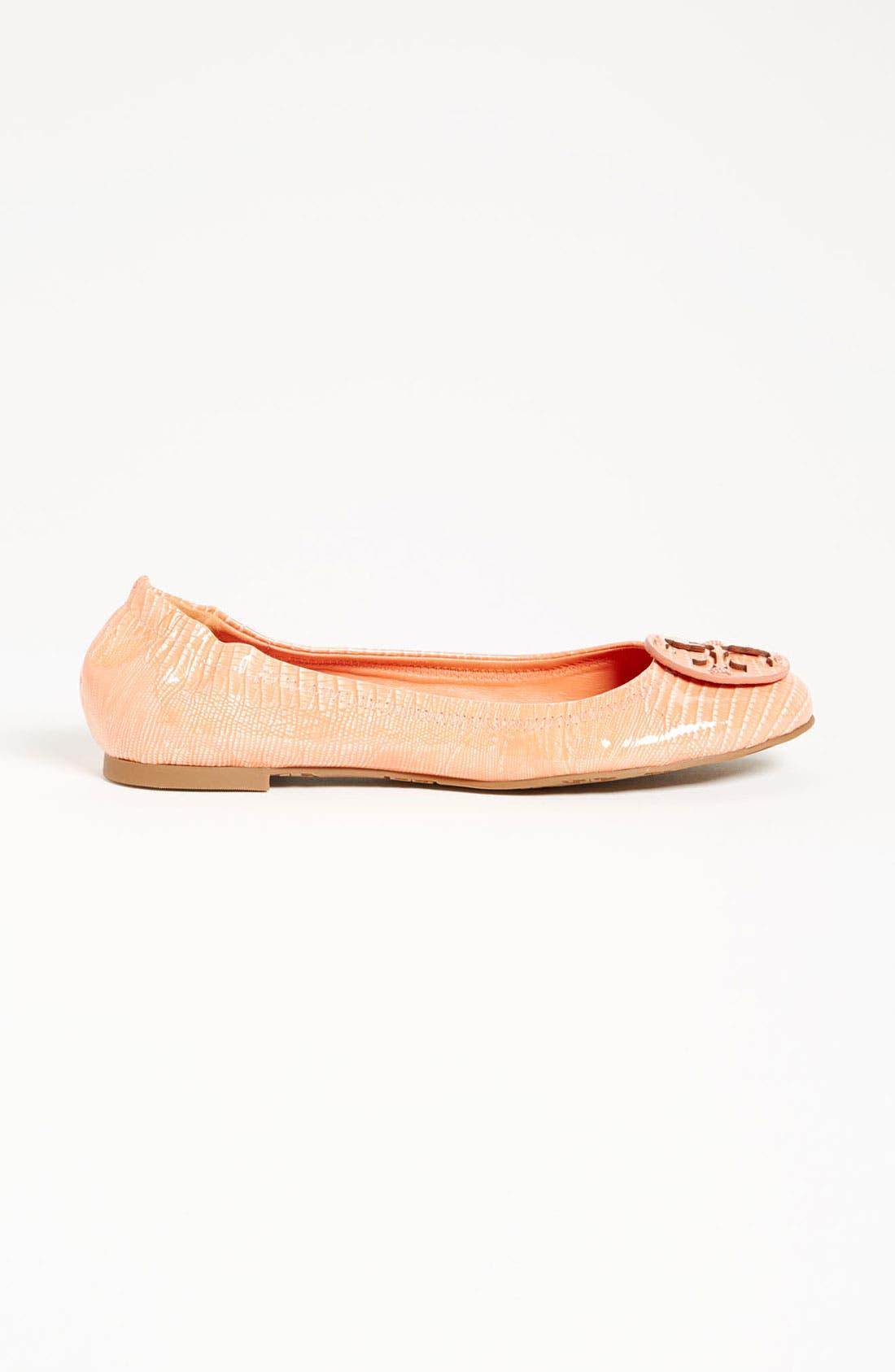 'Reva' Ballerina Flat,                             Main thumbnail 1, color,                             001