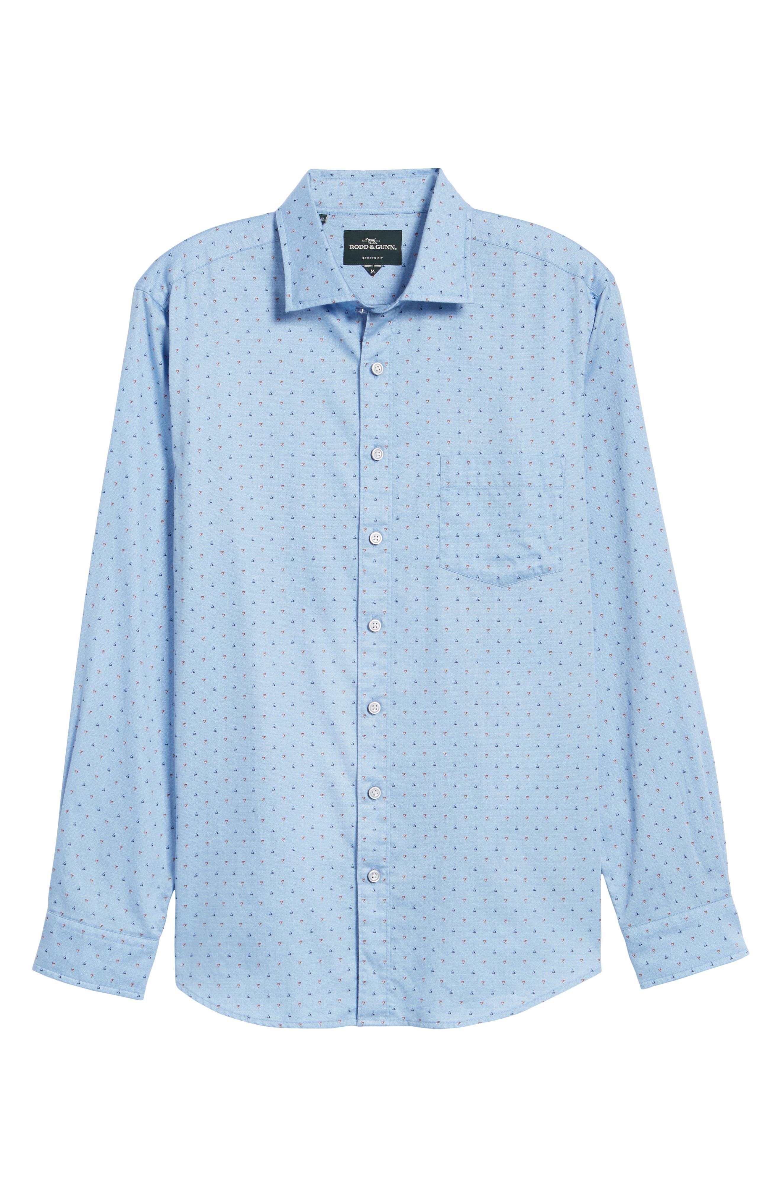 Penzance Regular Fit Sport Shirt,                             Alternate thumbnail 6, color,                             456
