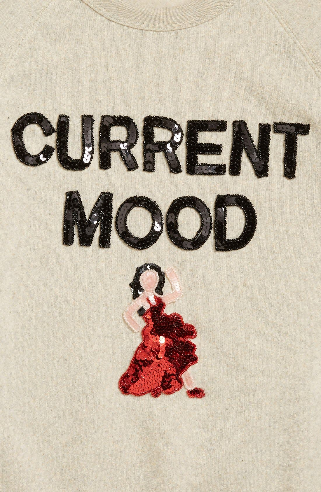 'Current Mood' Sequin Sweatshirt,                             Alternate thumbnail 2, color,                             020