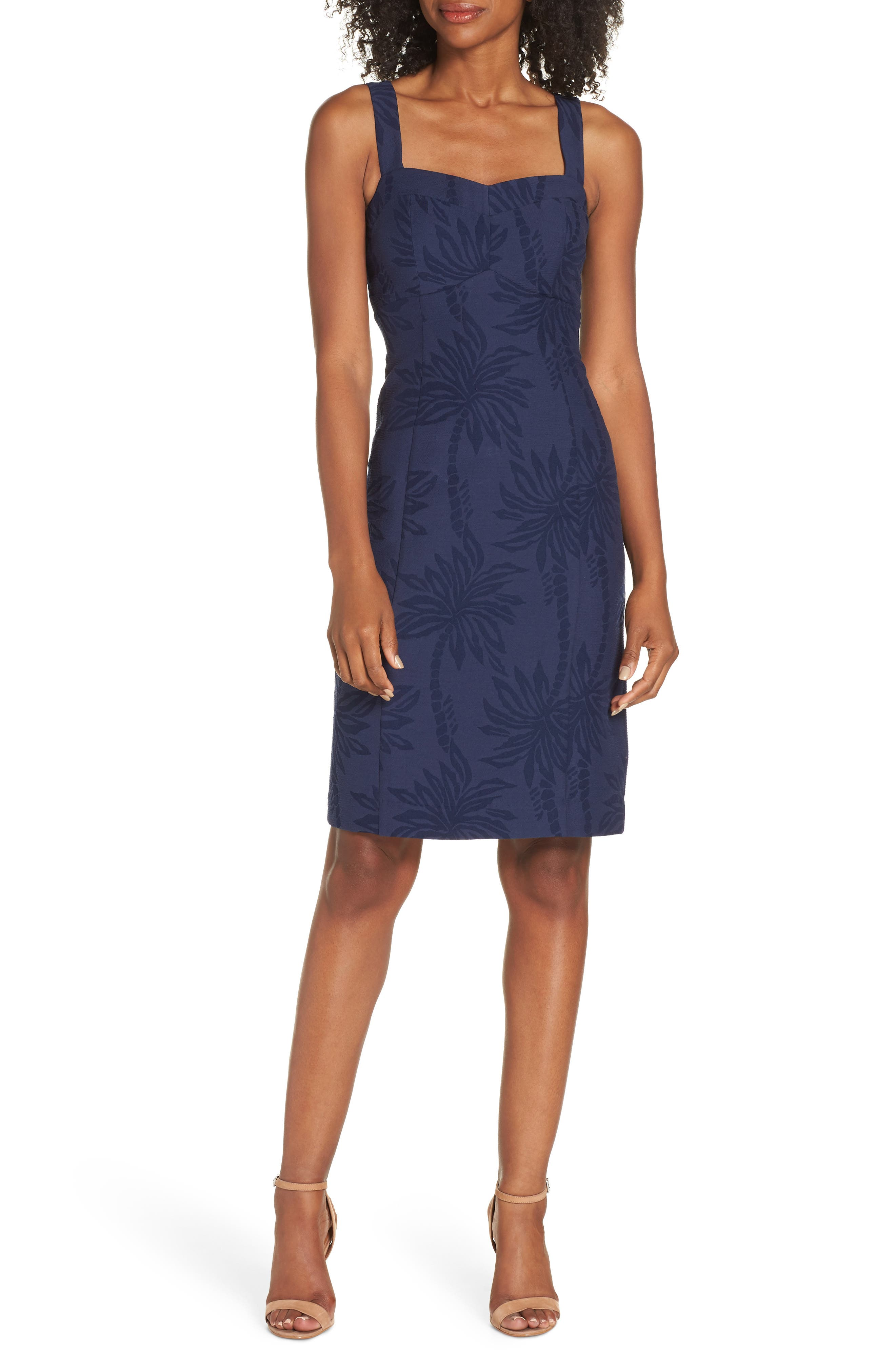 Lilly Pulitzer Annaless Body-Con Dress, Blue