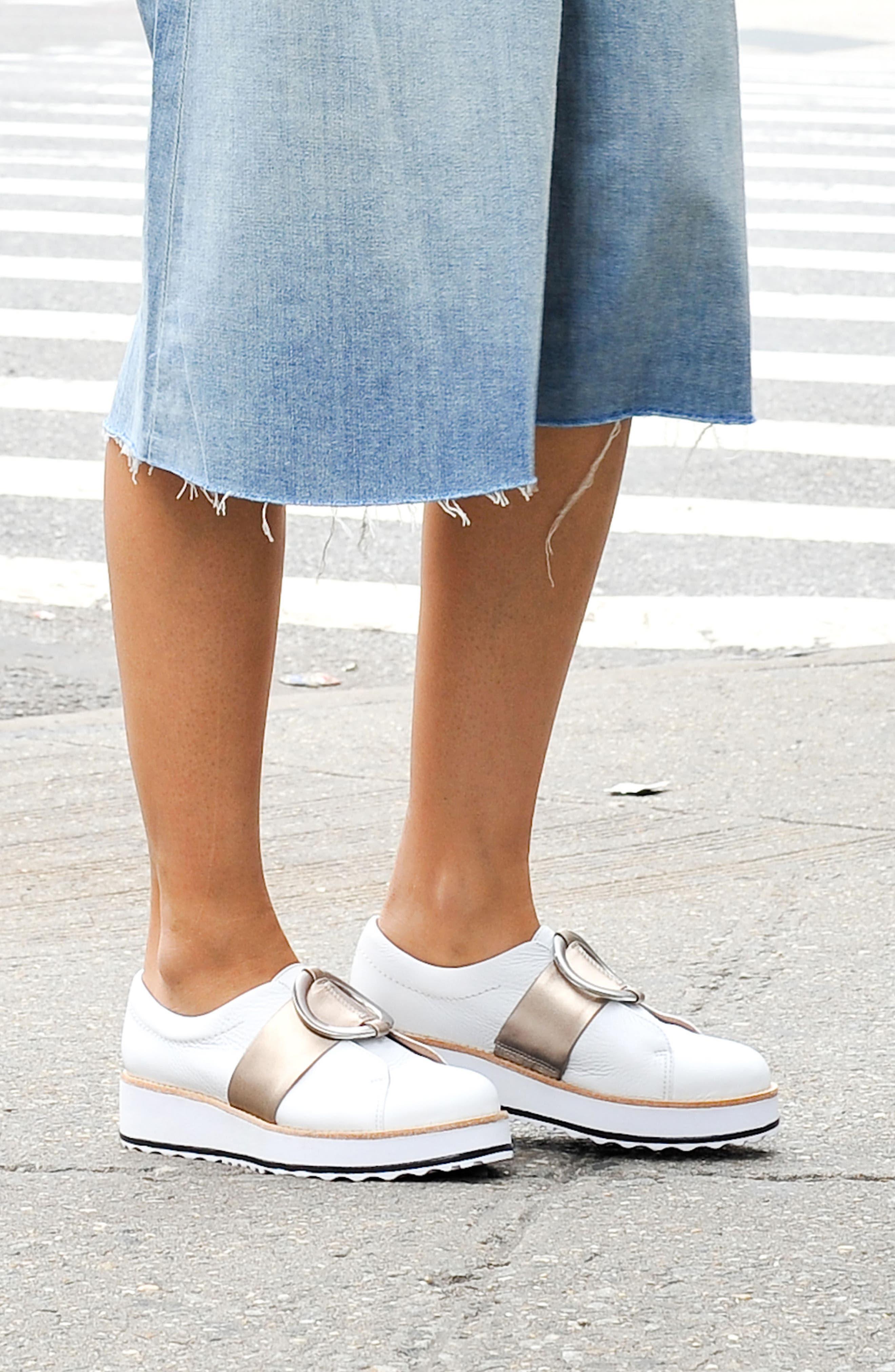 Susan Wedge Sneaker,                             Alternate thumbnail 8, color,                             100