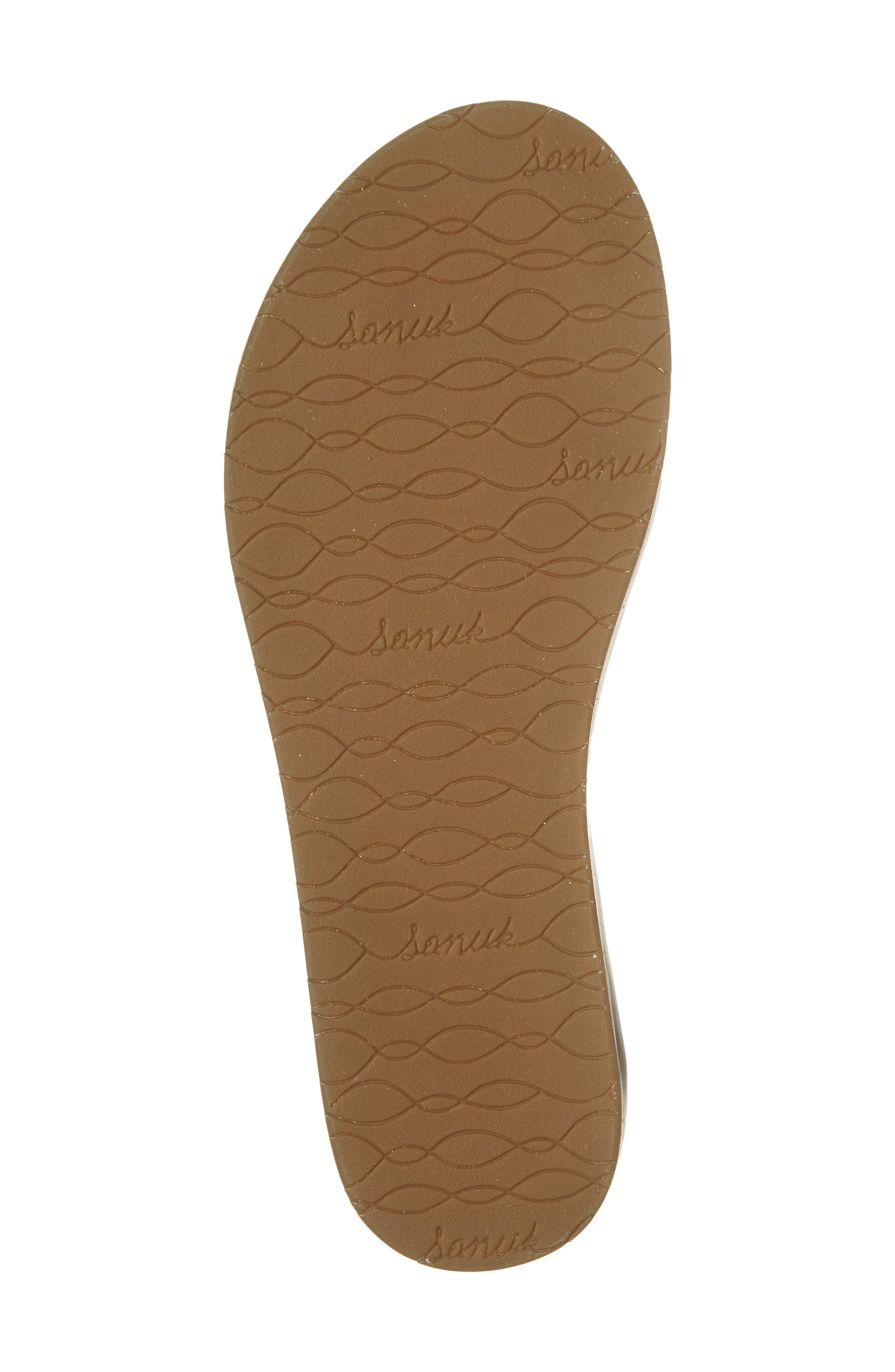 Yoga Tierra Ankle Wrap Sandal,                             Alternate thumbnail 6, color,                             230