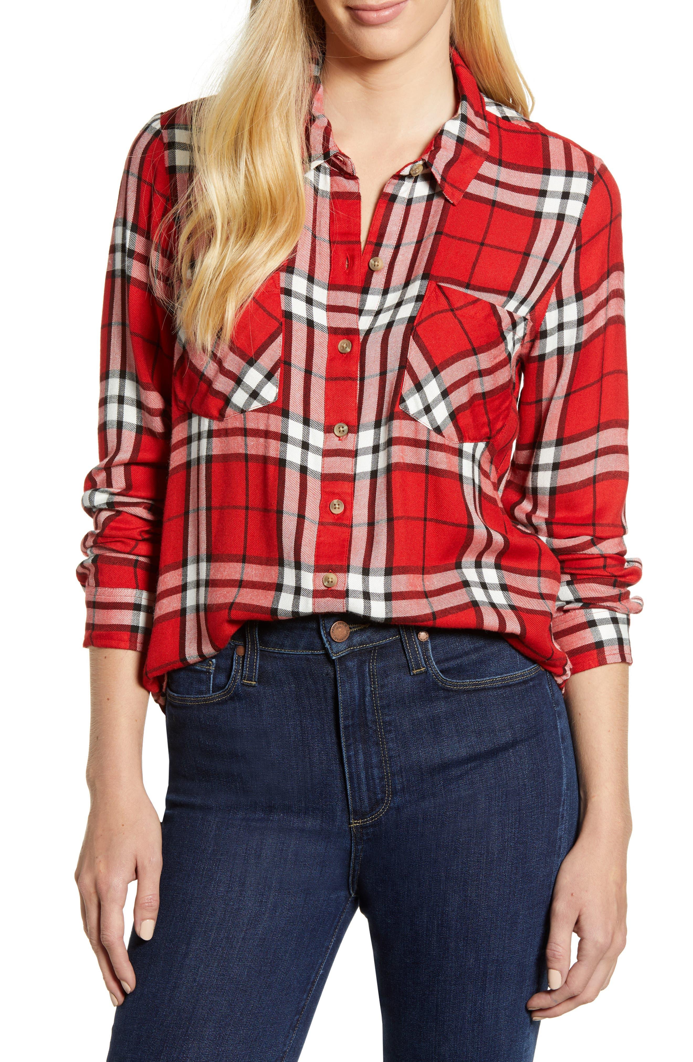 Plaid Shirt,                         Main,                         color, 610