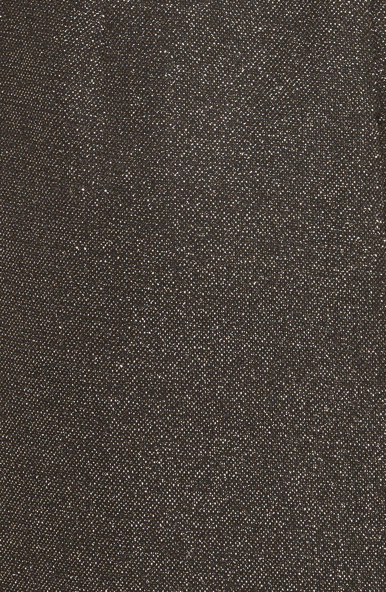Diane von Furstenberg Sparkle Sheath Minidress,                             Alternate thumbnail 5, color,                             001