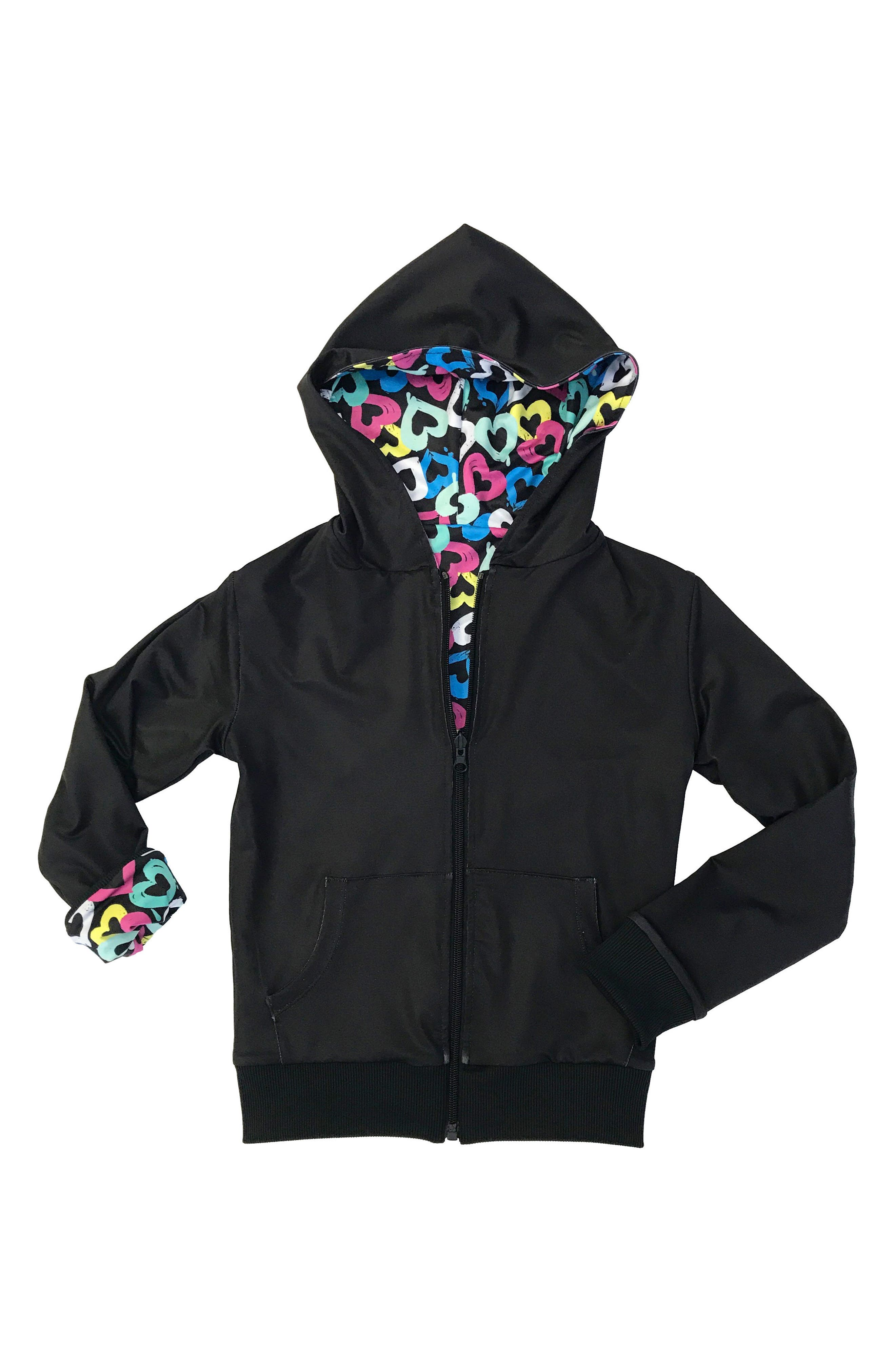 Duo Reversible Zip Hoodie,                             Main thumbnail 1, color,                             007